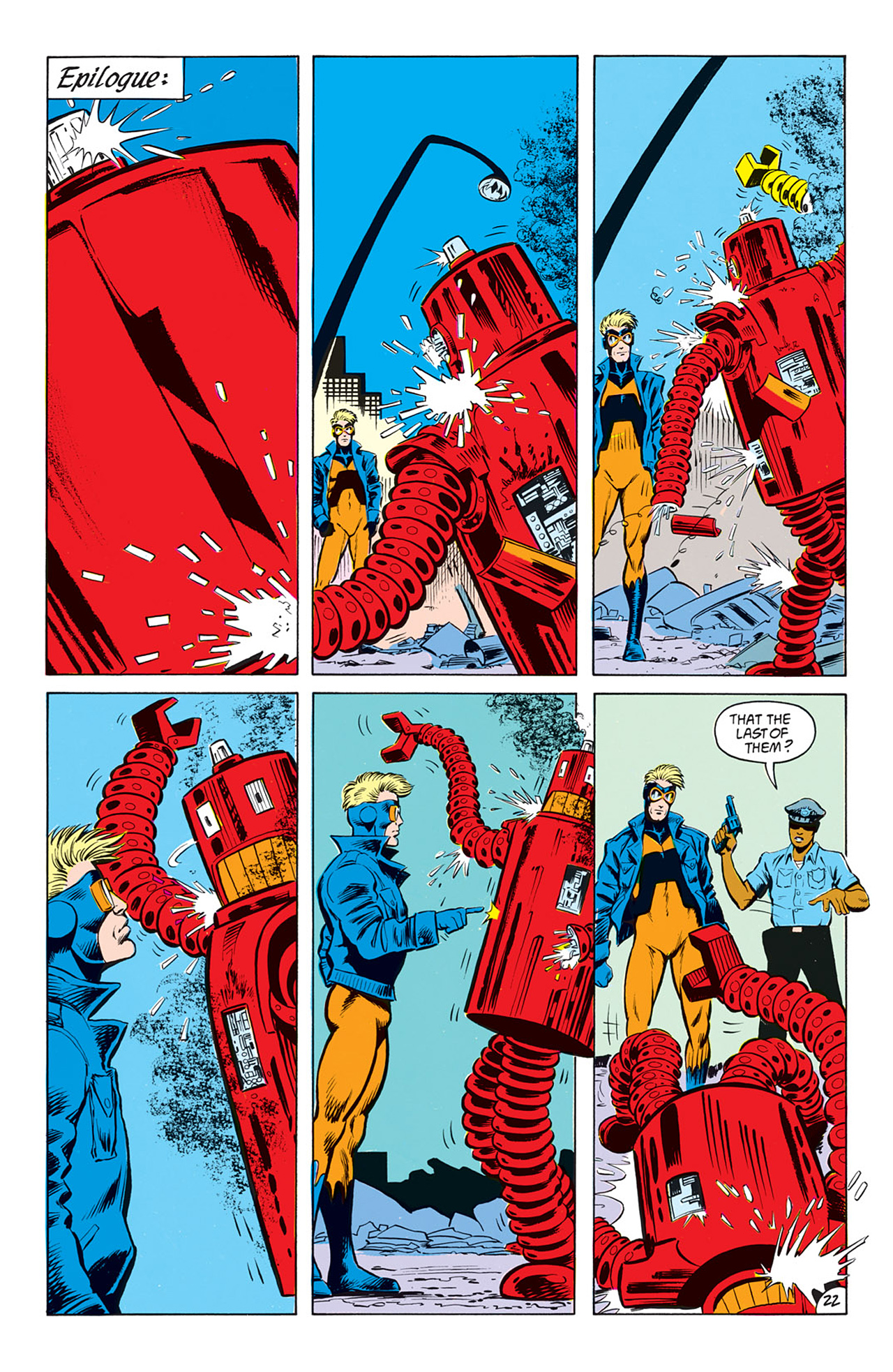 Read online Animal Man (1988) comic -  Issue #7 - 24