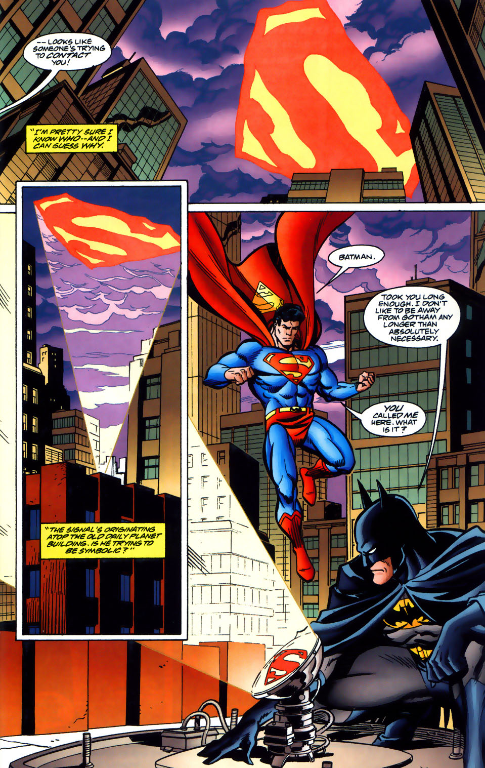 Read online Adventures of Superman (1987) comic -  Issue #565 - 18