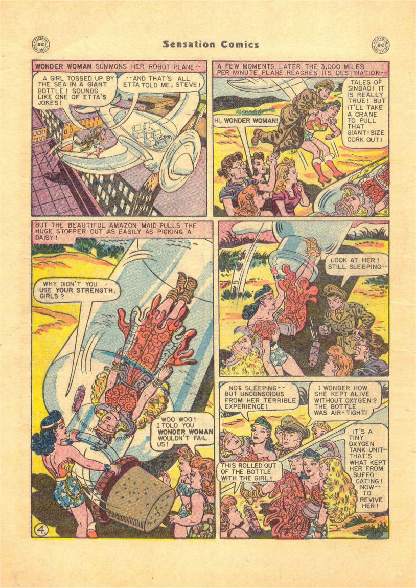Read online Sensation (Mystery) Comics comic -  Issue #84 - 6