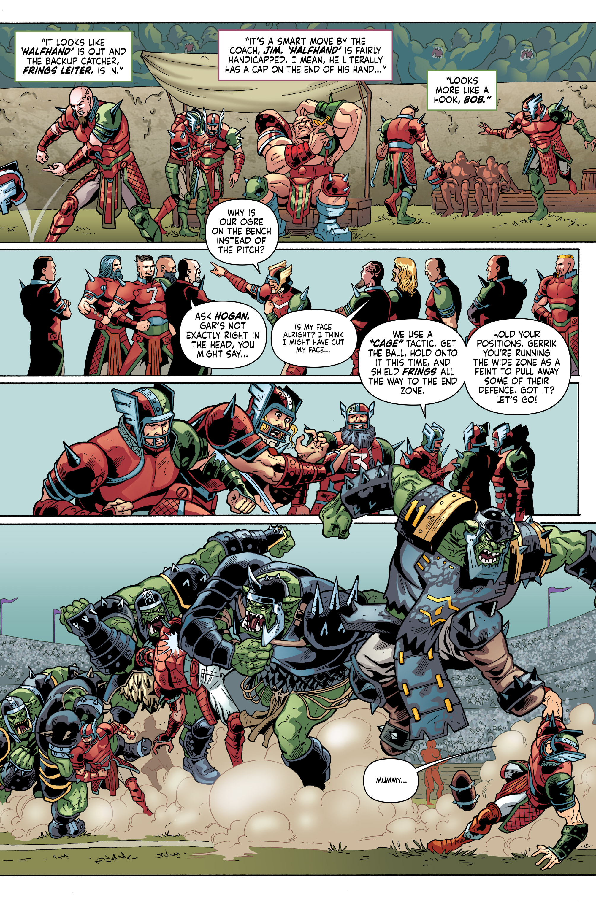 Read online Blood Bowl: More Guts, More Glory! comic -  Issue #1 - 25