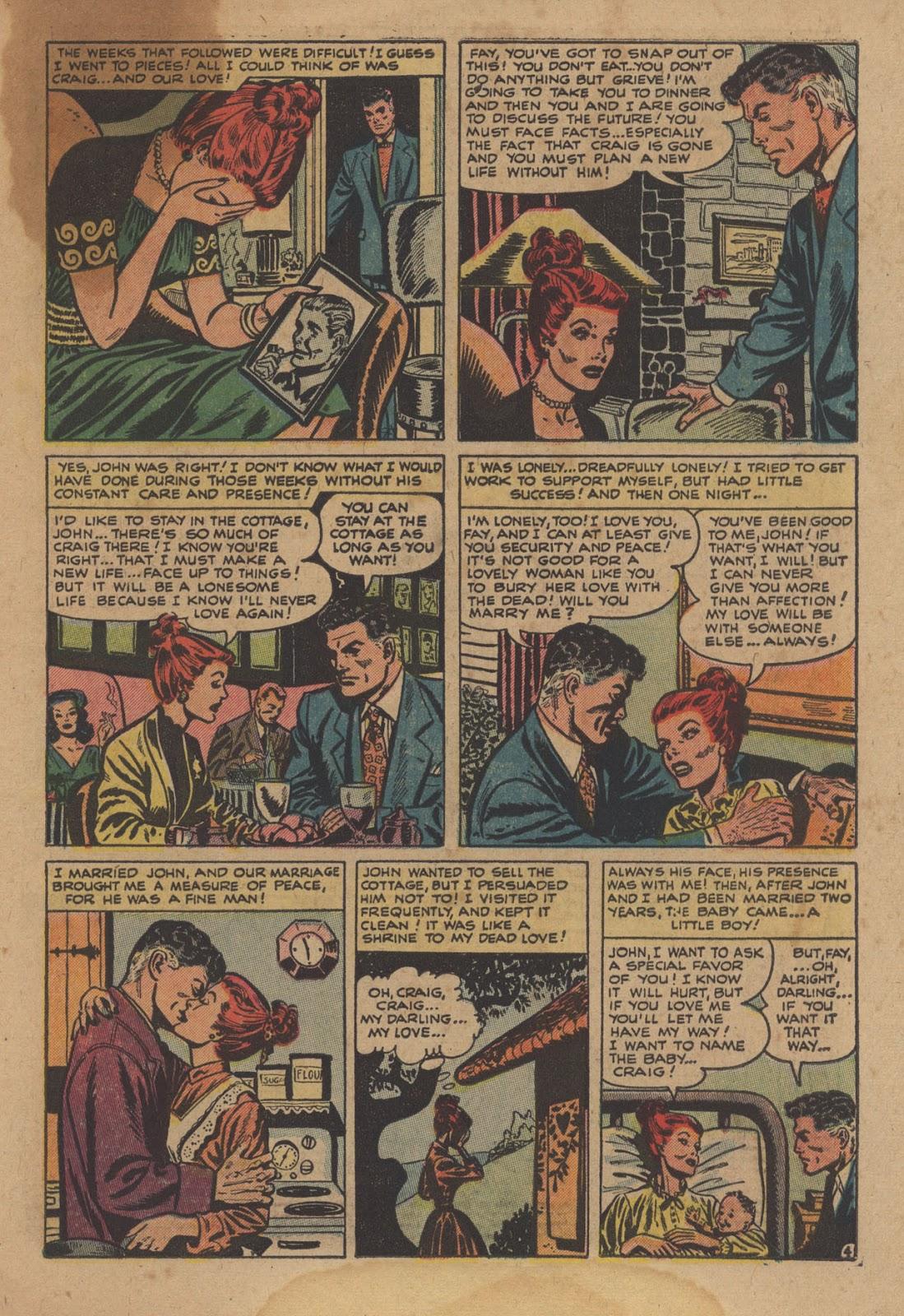 Love Romances (1949) issue 28 - Page 31