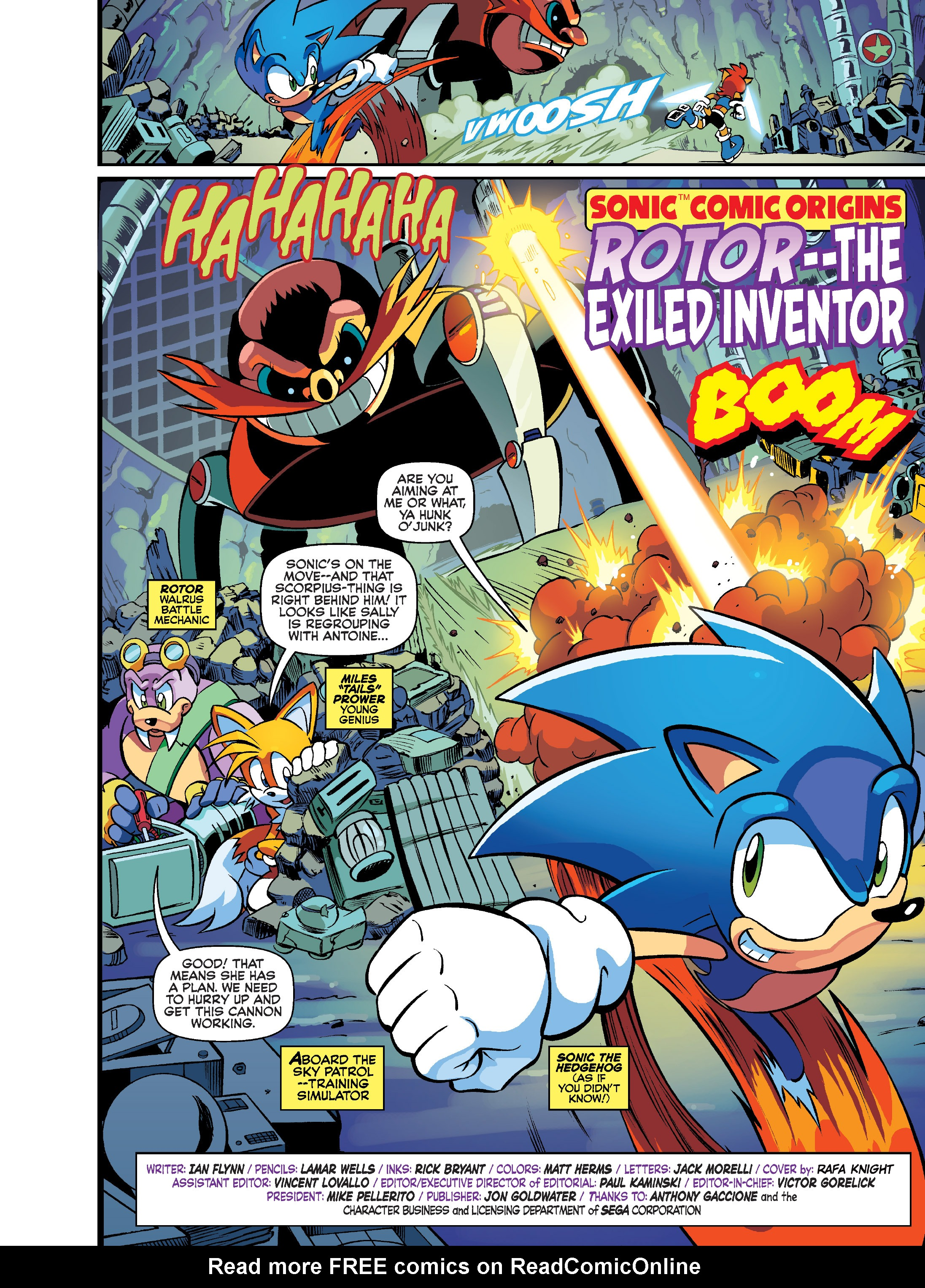 Read online Sonic Super Digest comic -  Issue #7 - 2