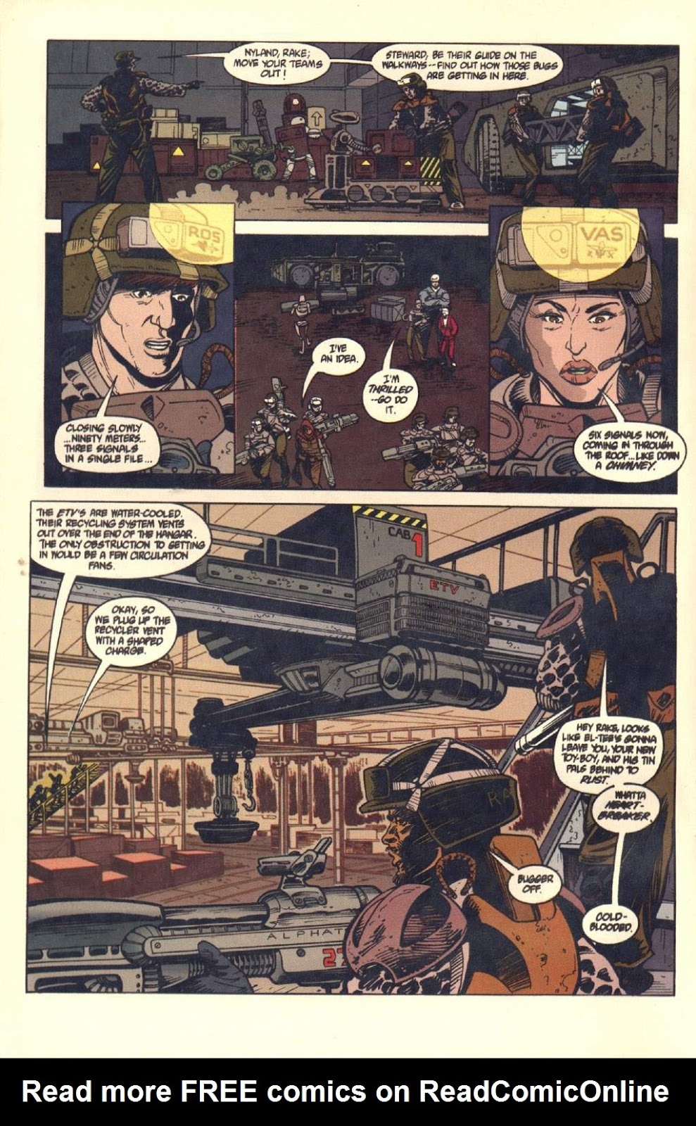 Read online Aliens: Colonial Marines comic -  Issue #7 - 15
