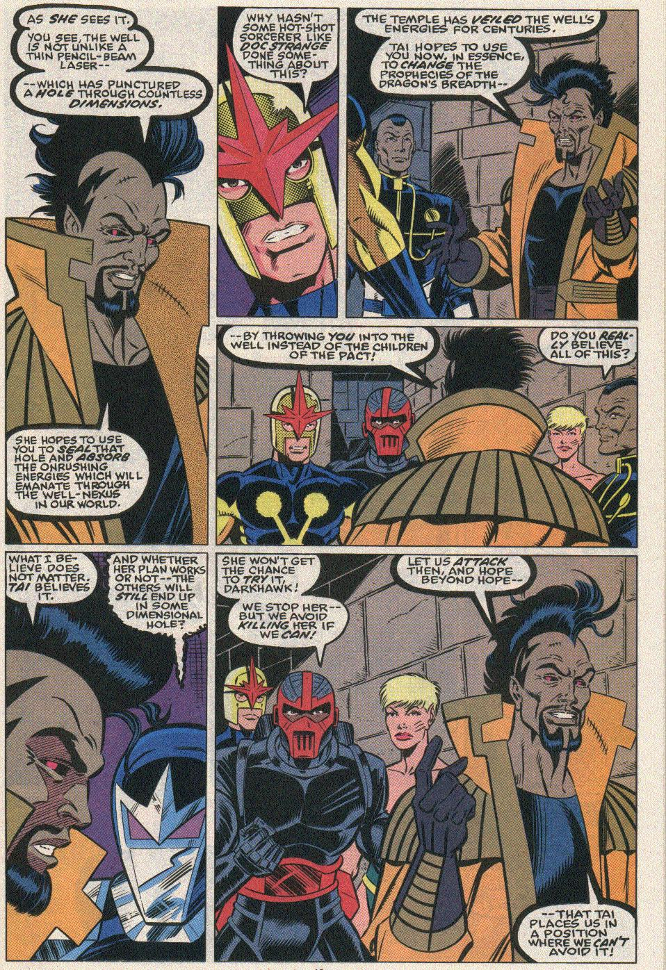 The New Warriors Issue #25 #29 - English 16