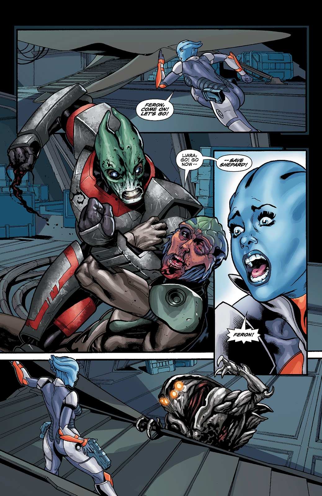 Mass Effect: Redemption Issue #4 #4 - English 19