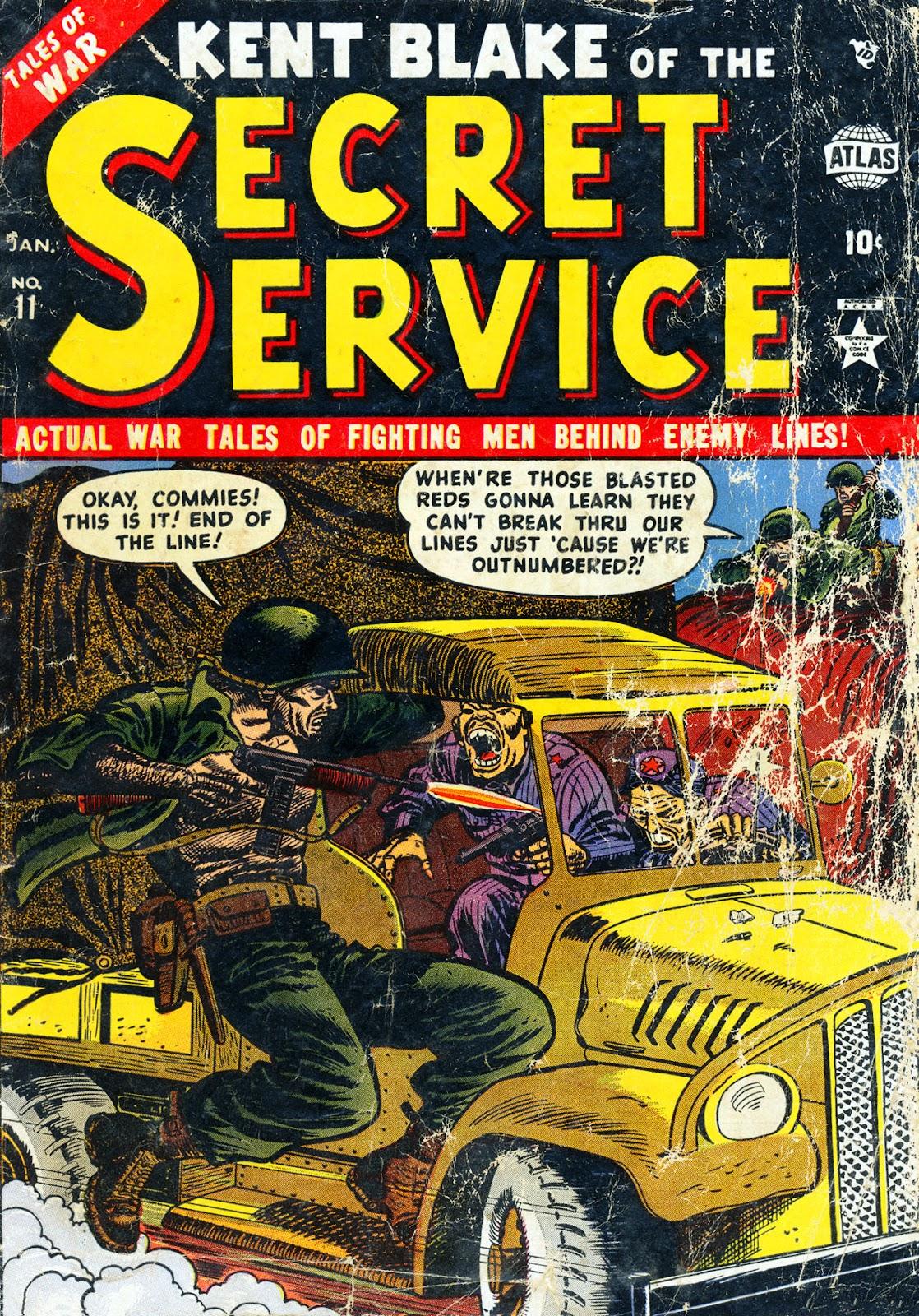 Kent Blake of the Secret Service 11 Page 1
