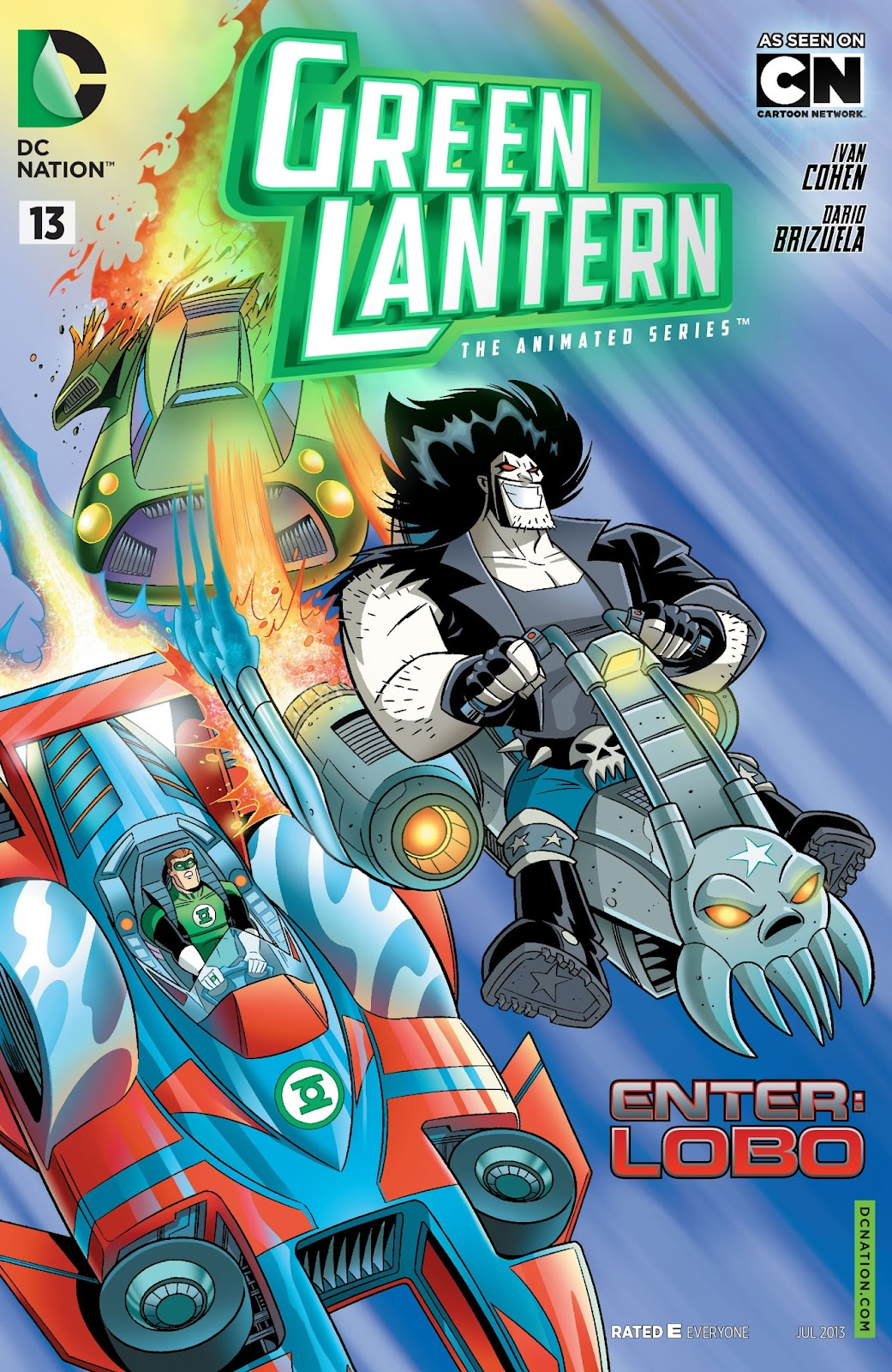 Green Lantern: The Animated Series 13 Page 1