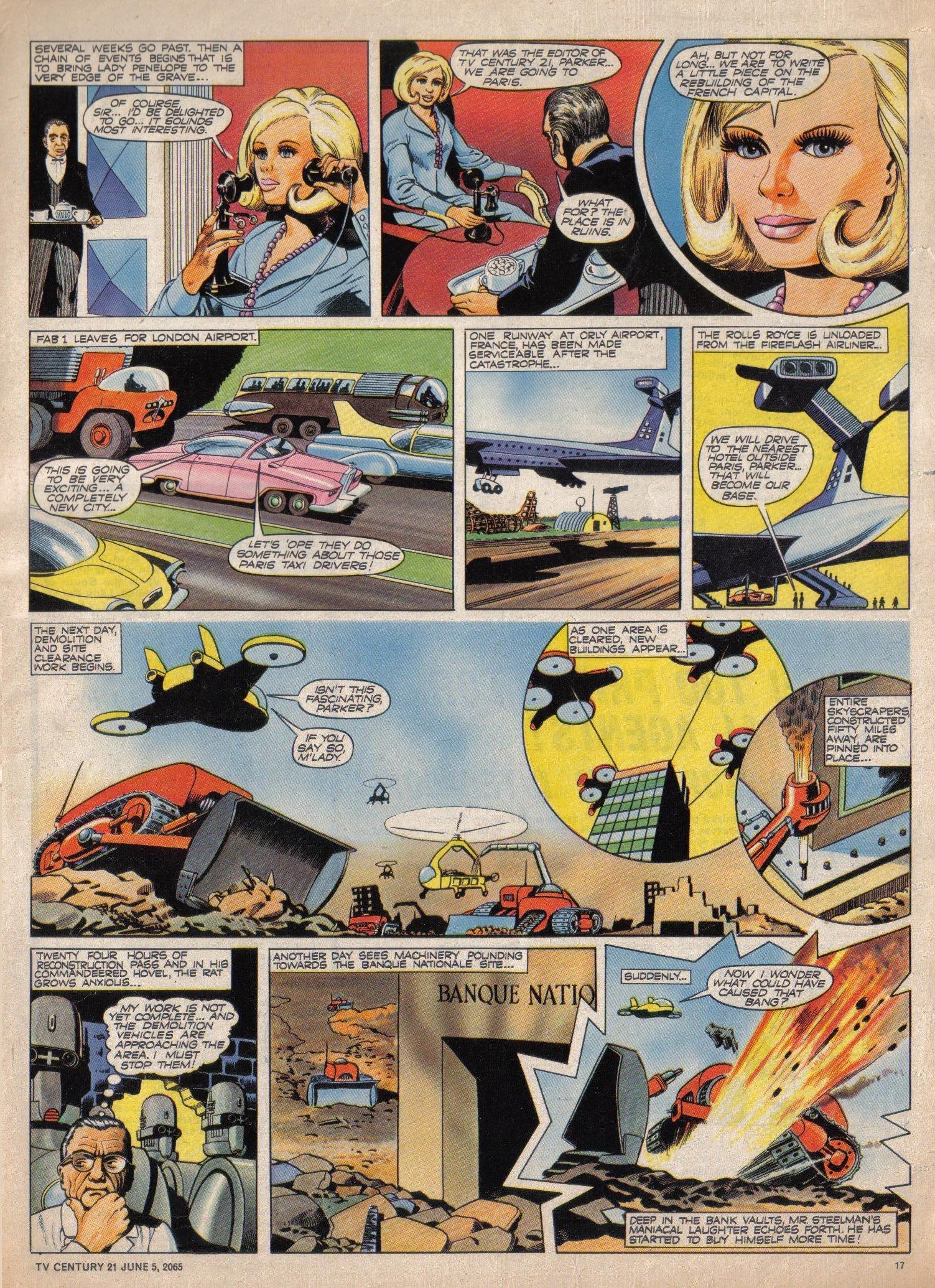 Read online TV Century 21 (TV 21) comic -  Issue #20 - 16