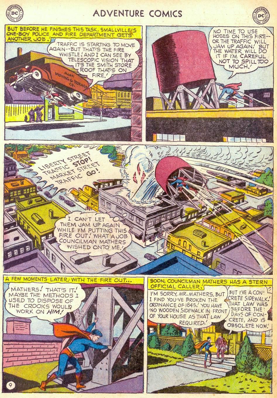 Read online Adventure Comics (1938) comic -  Issue #172 - 11