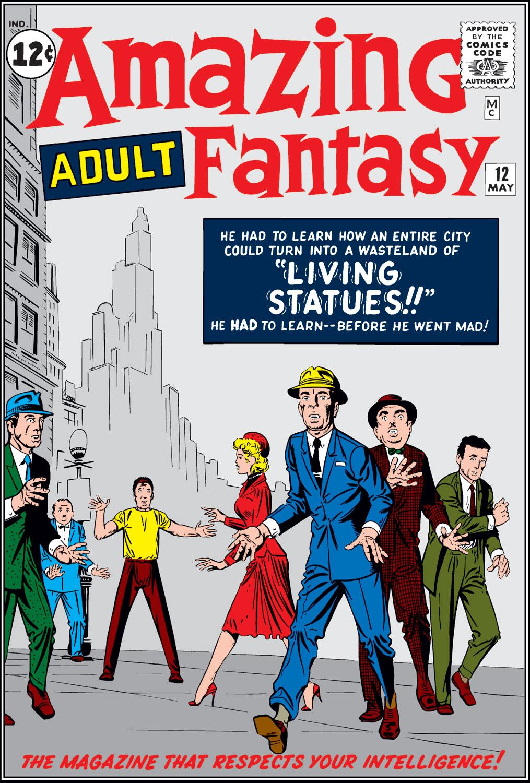 Amazing Adult Fantasy 12 Page 1
