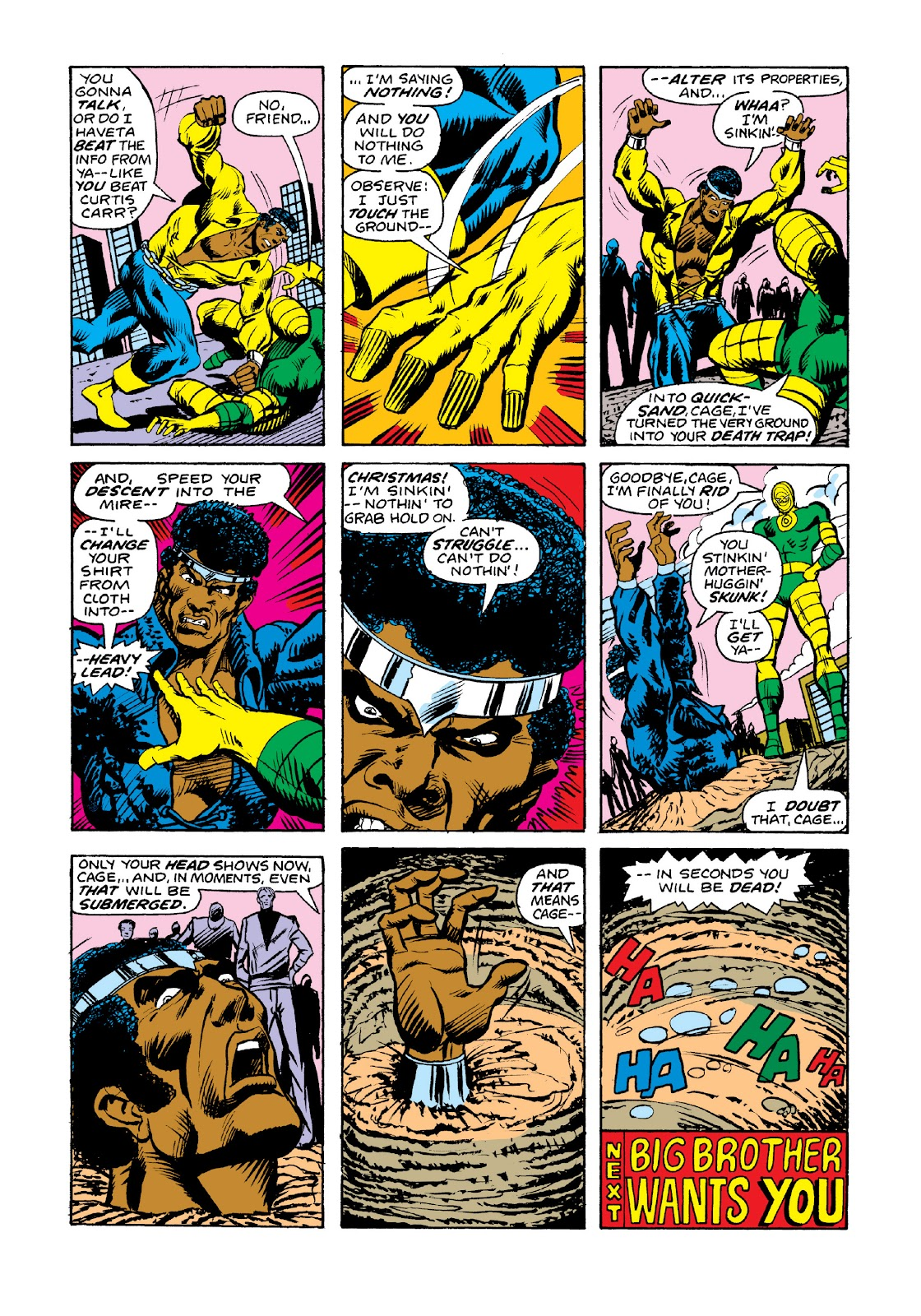 Read online Marvel Masterworks: Luke Cage, Power Man comic -  Issue # TPB 3 (Part 2) - 36