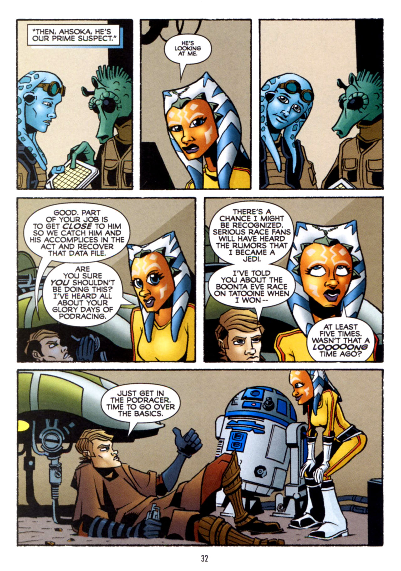 Read online Star Wars: The Clone Wars - Crash Course comic -  Issue # Full - 33