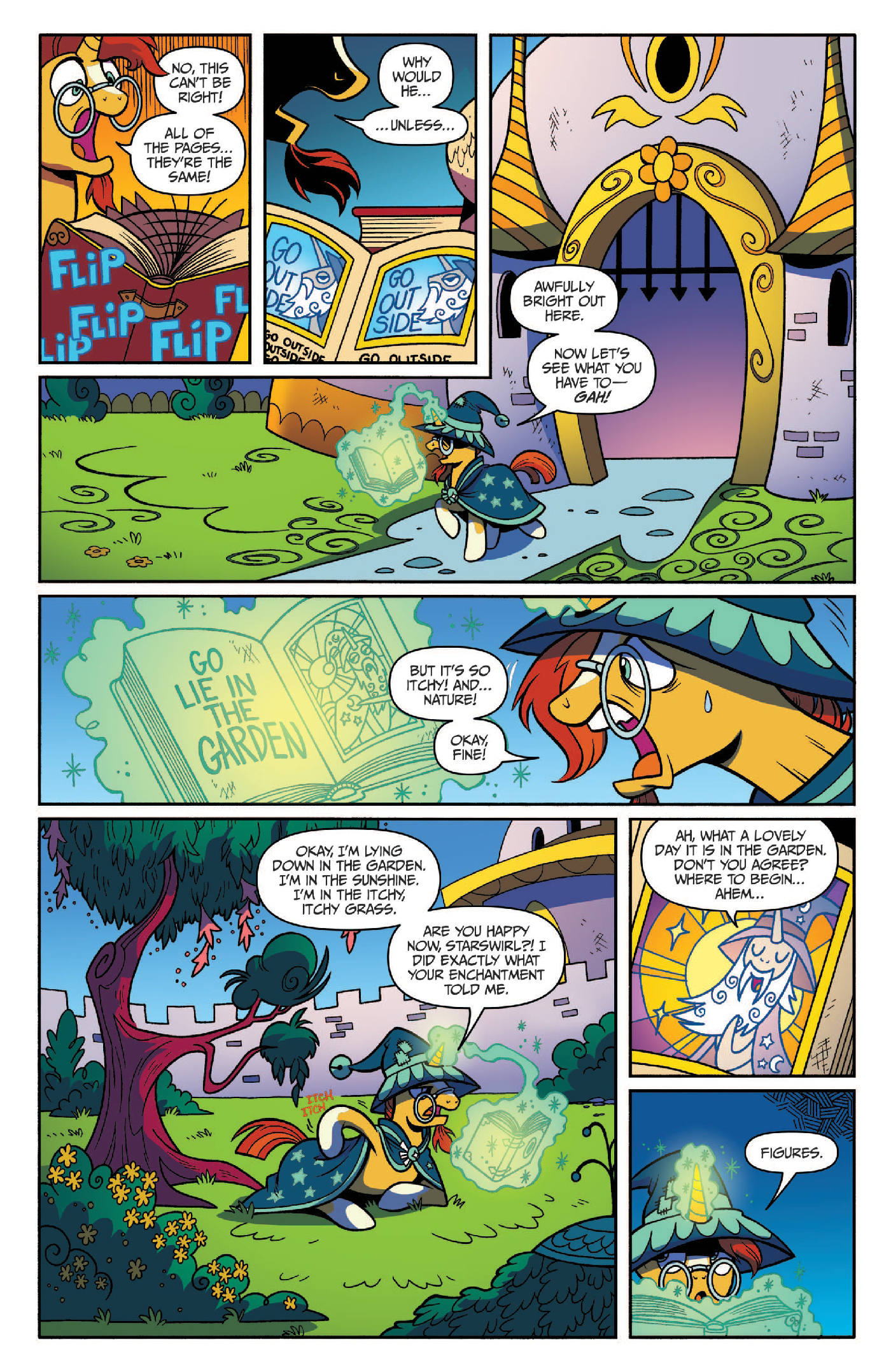 Read online My Little Pony: Legends of Magic comic -  Issue #3 - 4