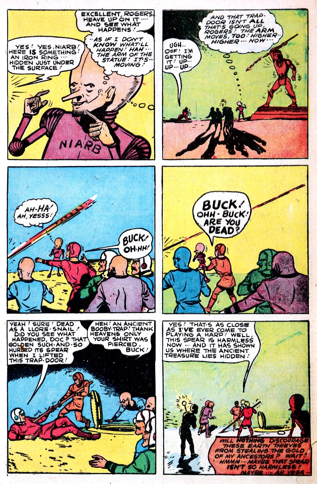 Read online Famous Funnies comic -  Issue #149 - 7