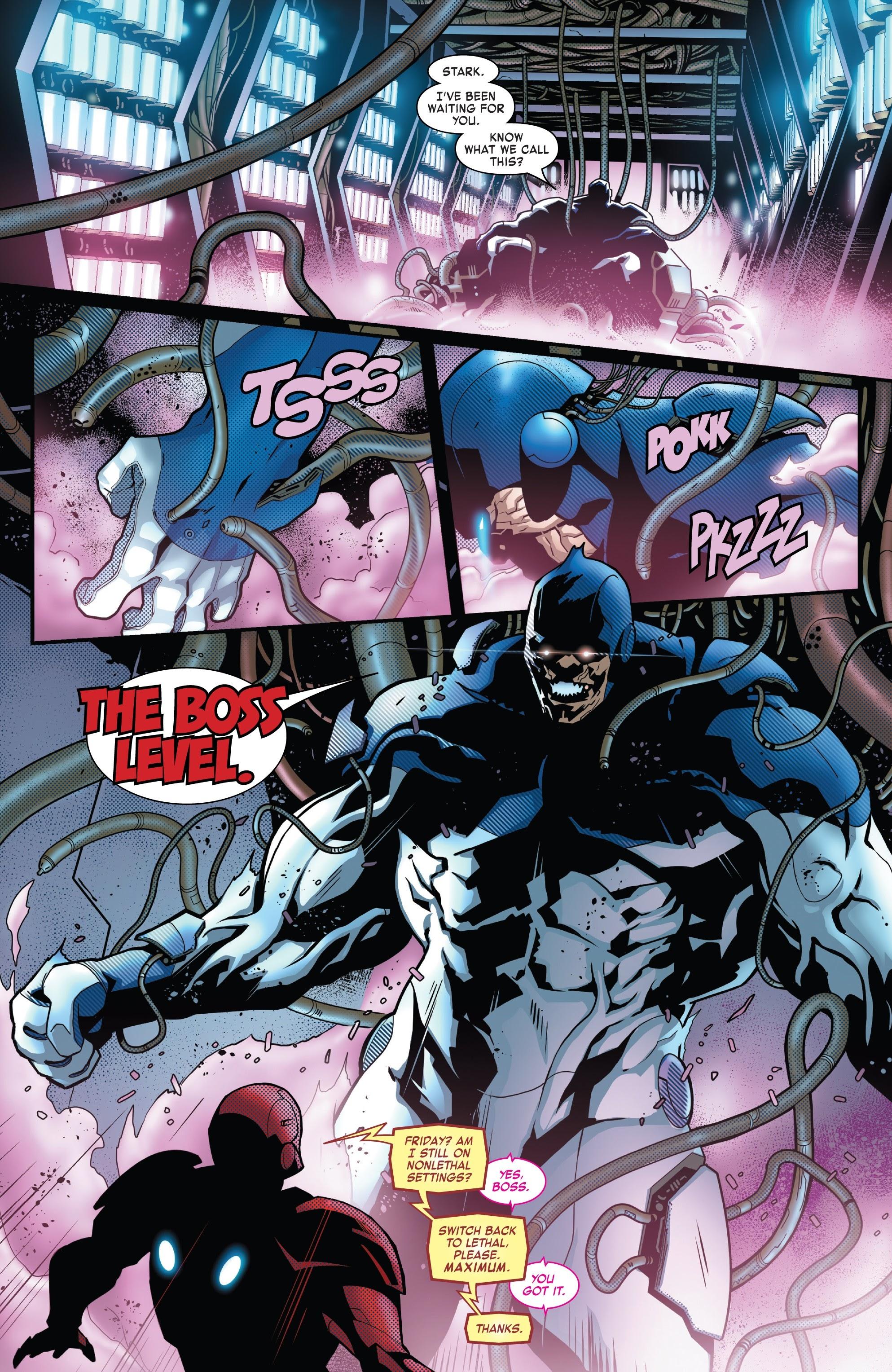 Read online Tony Stark: Iron Man comic -  Issue #8 - 9