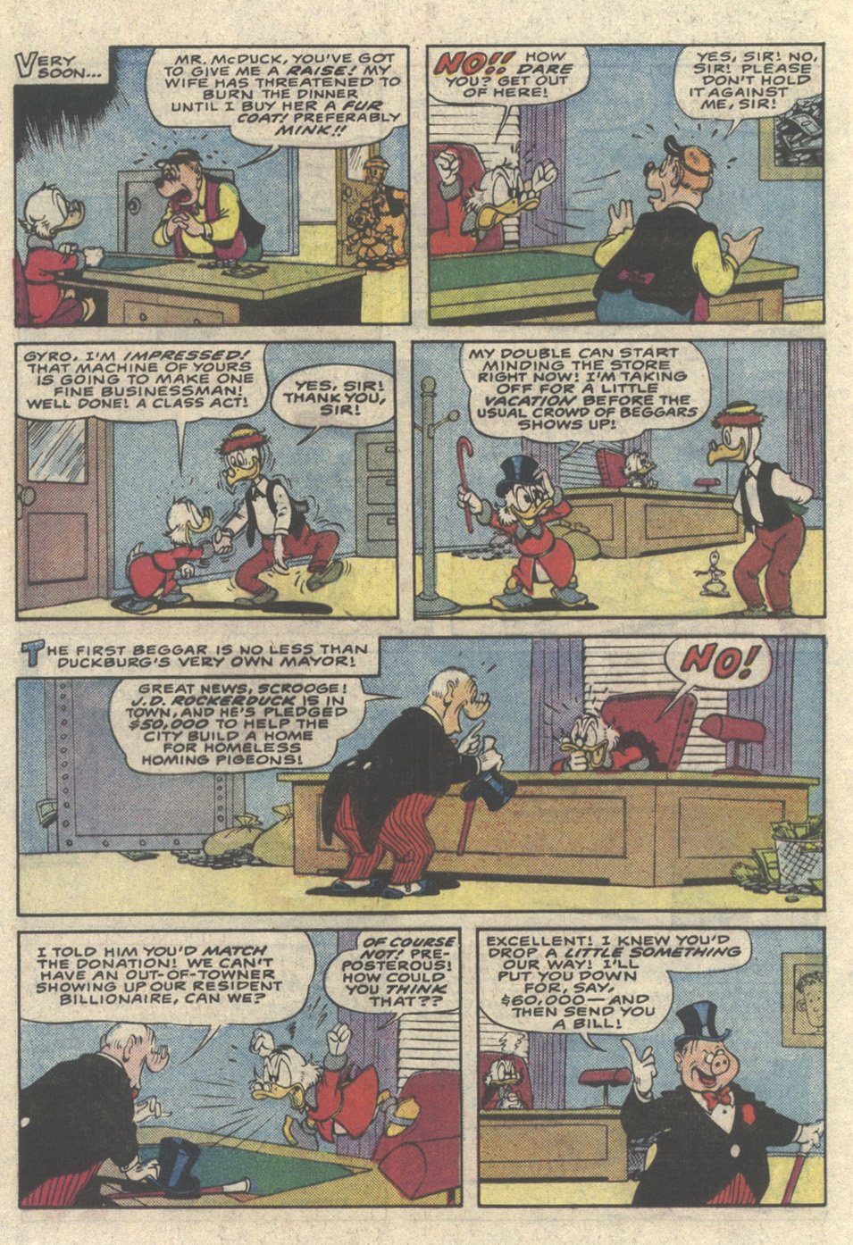 Read online Uncle Scrooge (1953) comic -  Issue #216 - 20