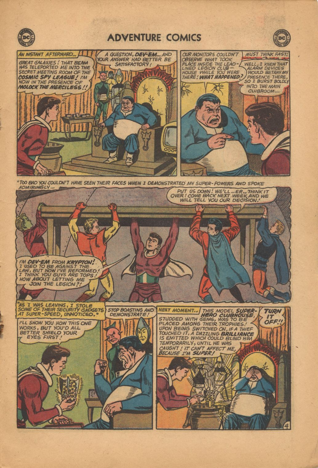 Read online Adventure Comics (1938) comic -  Issue #320 - 19