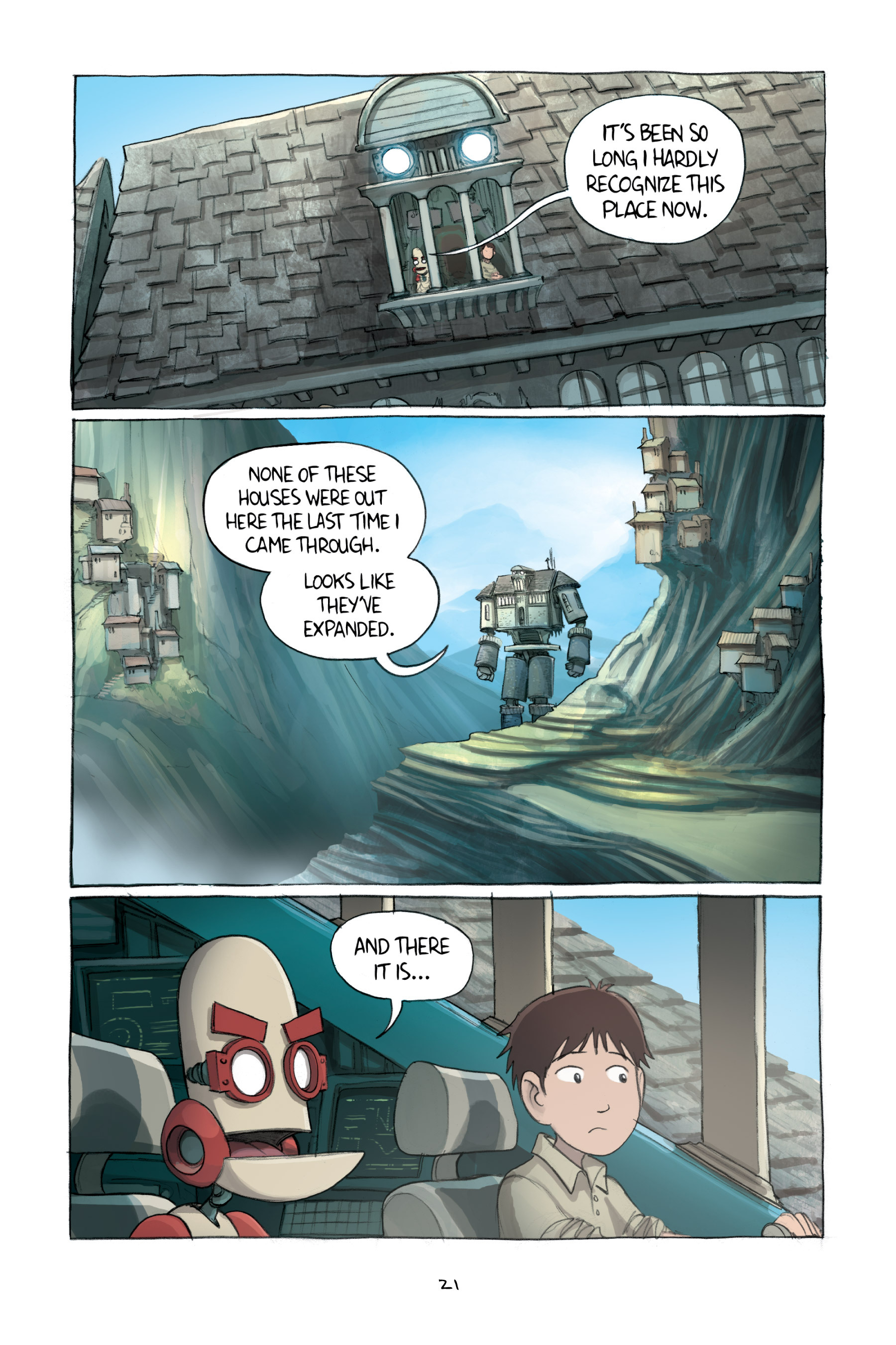 Read online Amulet comic -  Issue #2 - 24