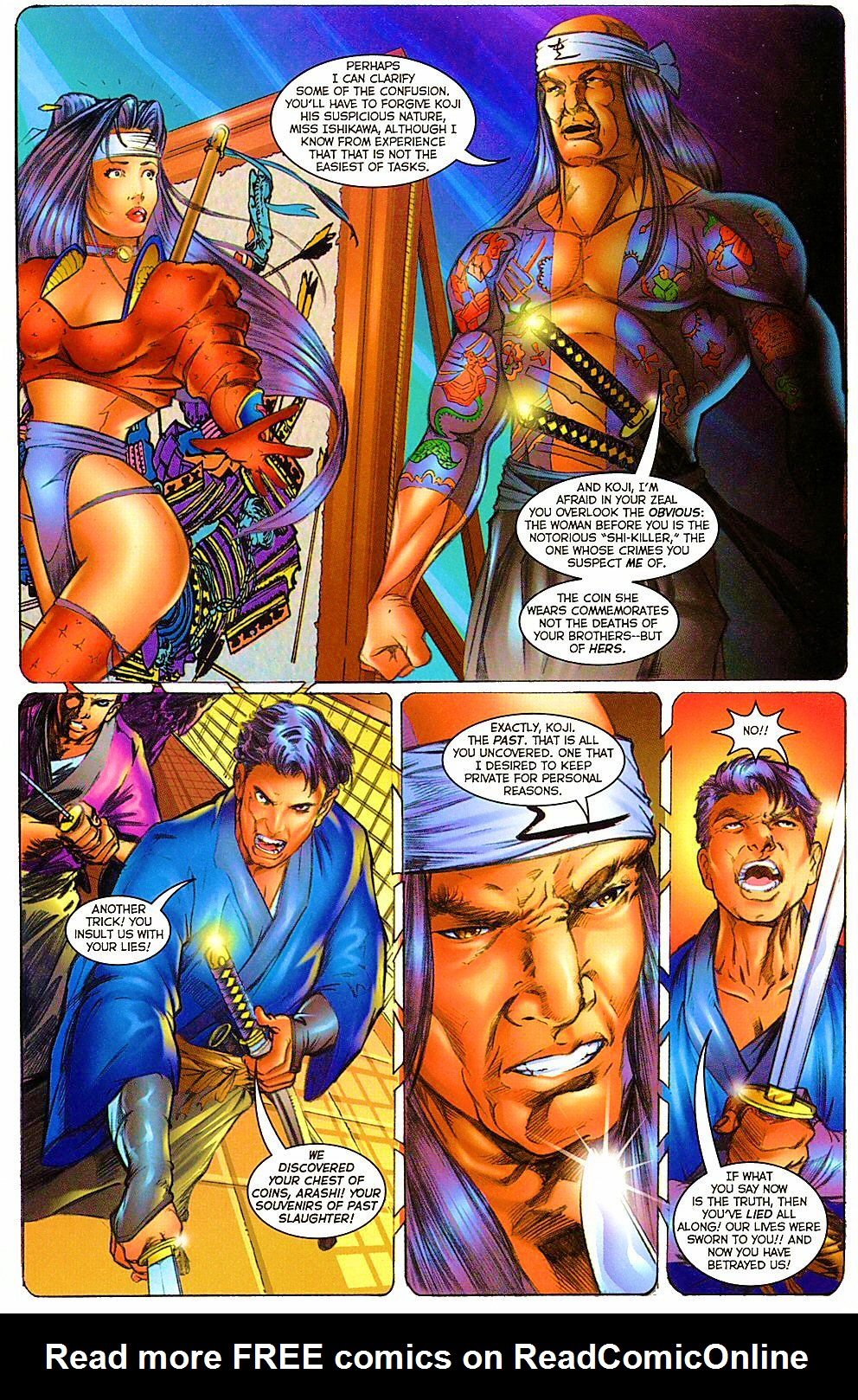 Read online Shi: The Way of the Warrior comic -  Issue #12 - 11