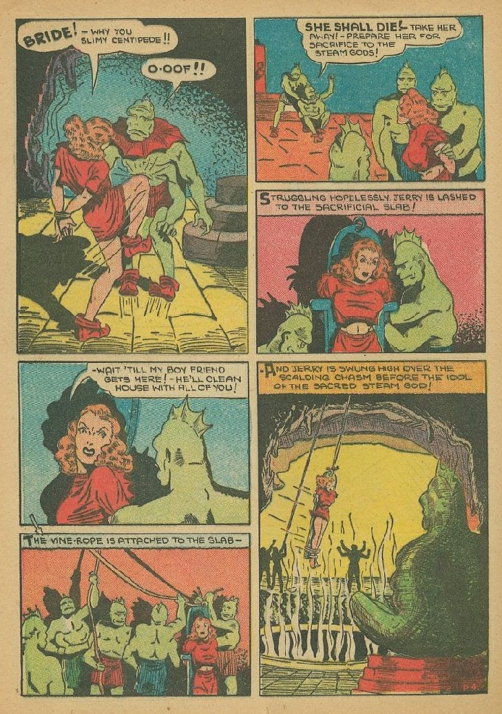 Read online Amazing Man Comics comic -  Issue #9 - 47