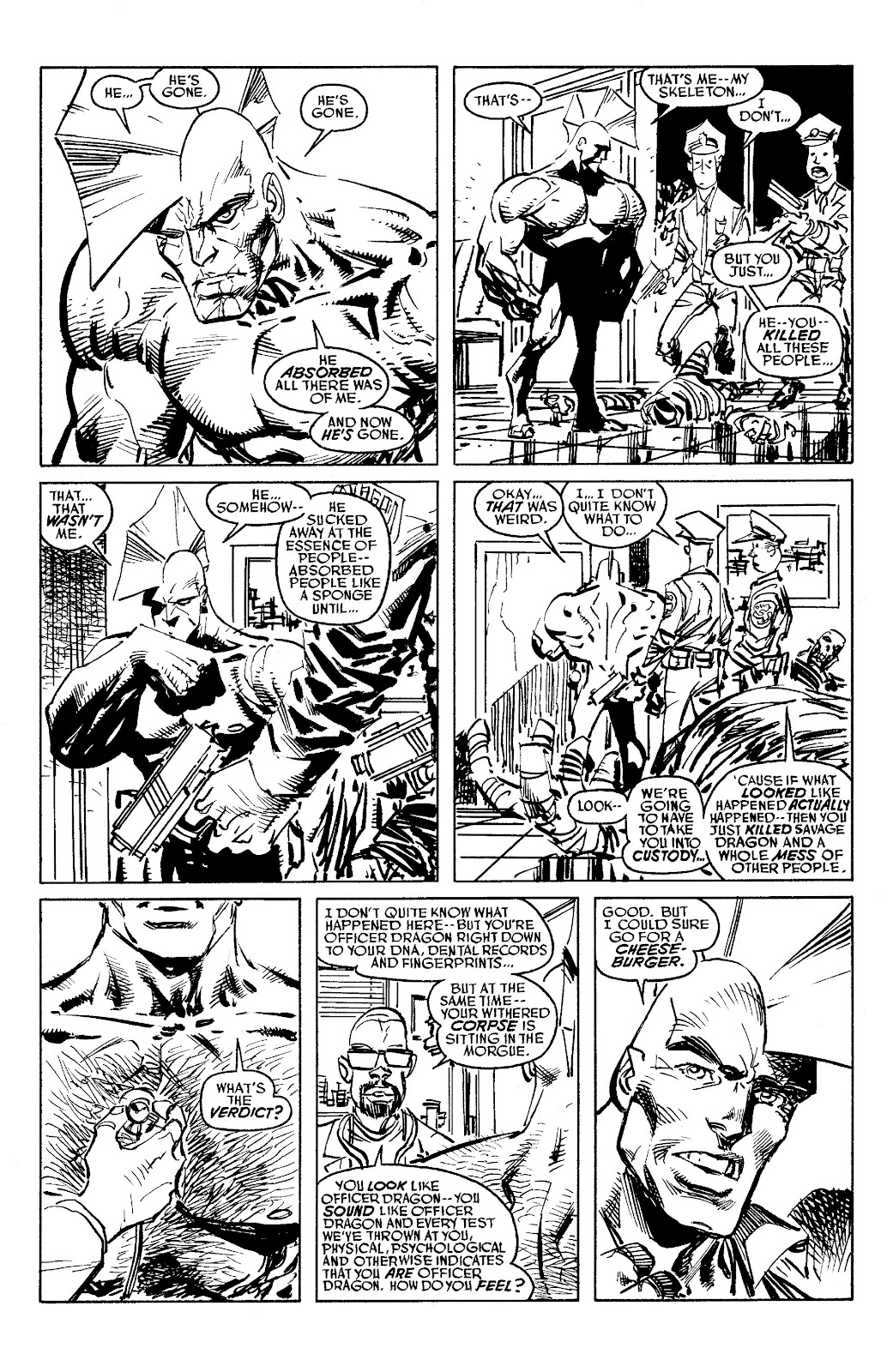 Read online Savage Dragon Archives comic -  Issue # TPB 6 (Part 5) - 32