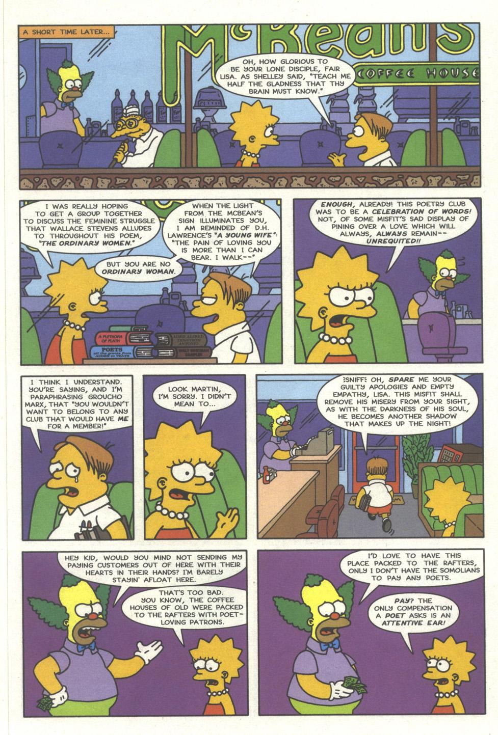 Read online Simpsons Comics comic -  Issue #32 - 8