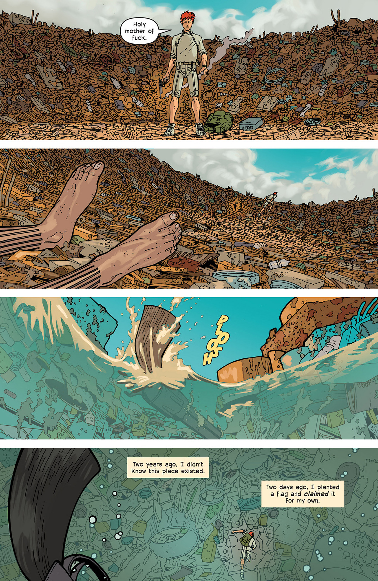 Read online Great Pacific comic -  Issue #2 - 17