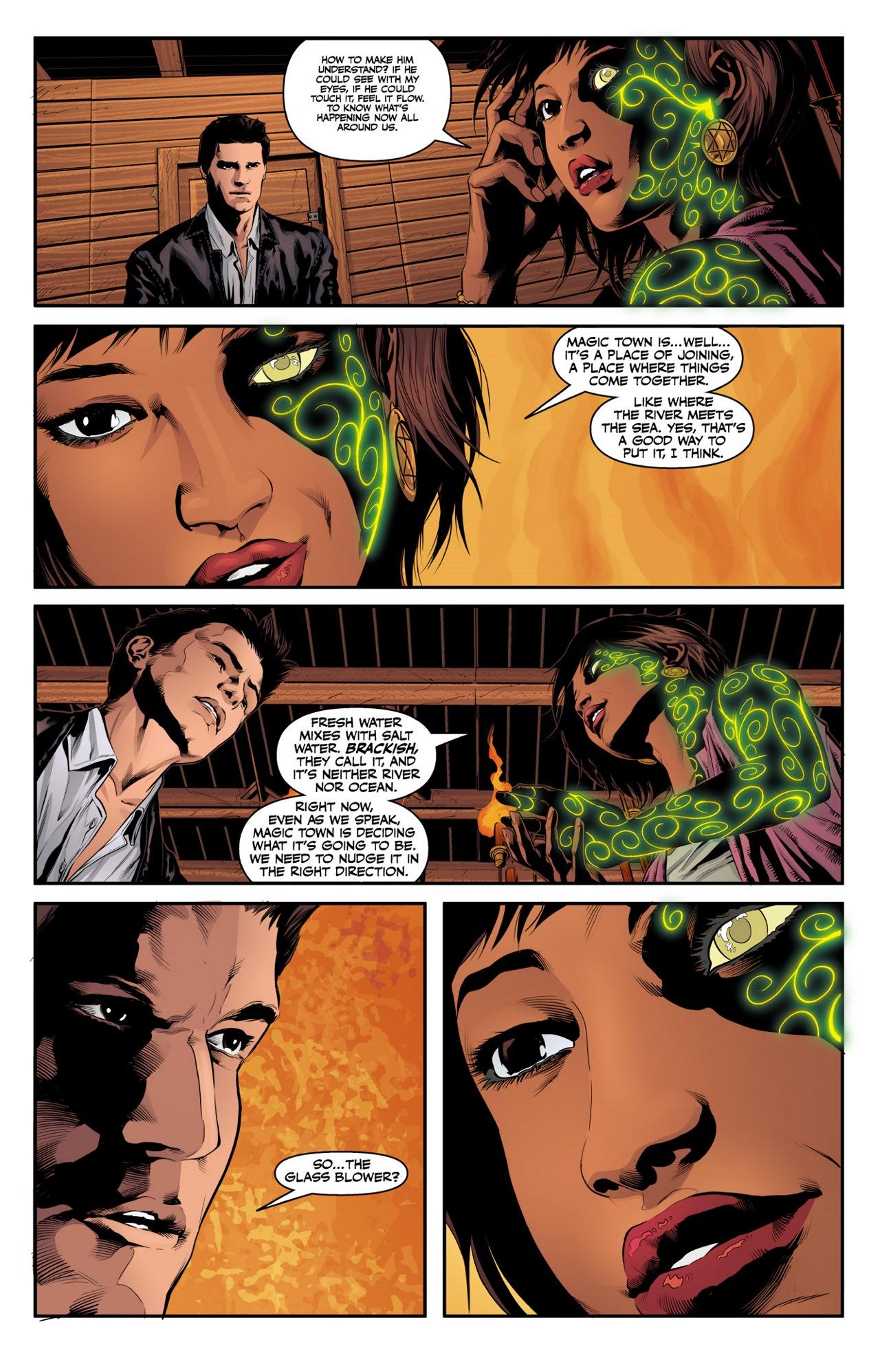 Read online Angel & Faith Season 10 comic -  Issue #3 - 9