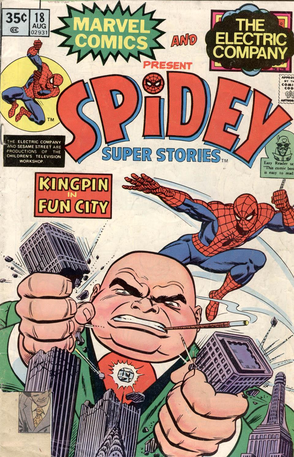 Spidey Super Stories 18 Page 1