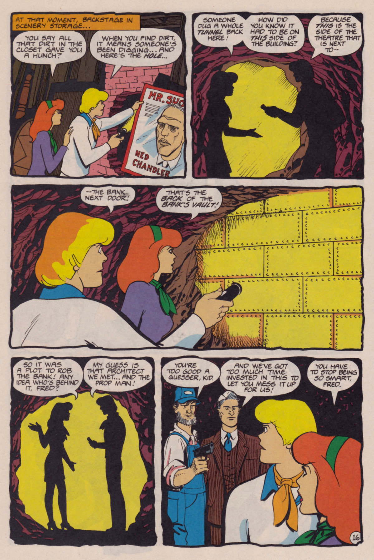 Read online Scooby-Doo (1995) comic -  Issue #10 - 17