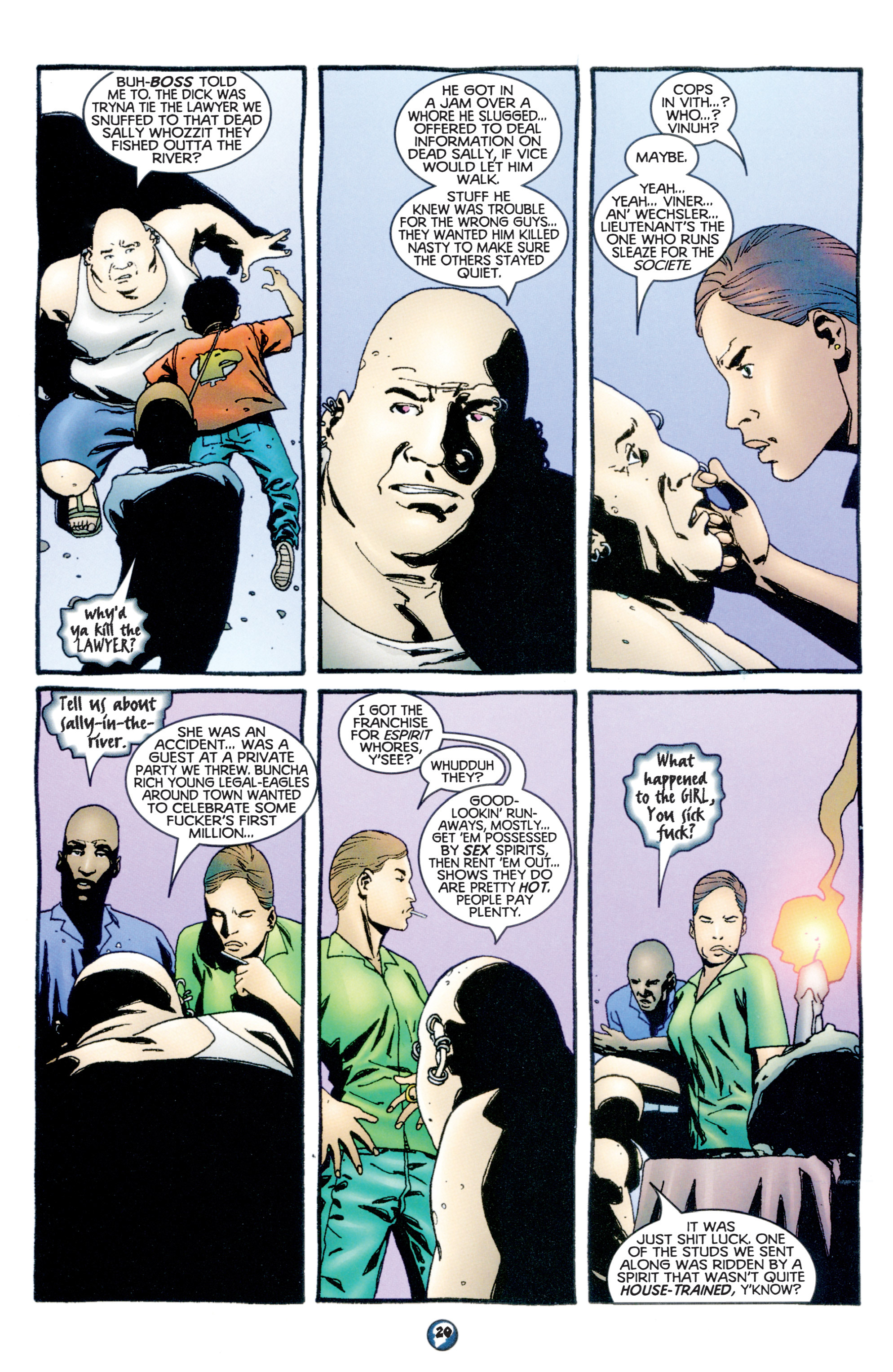 Read online Shadowman (1997) comic -  Issue #10 - 16