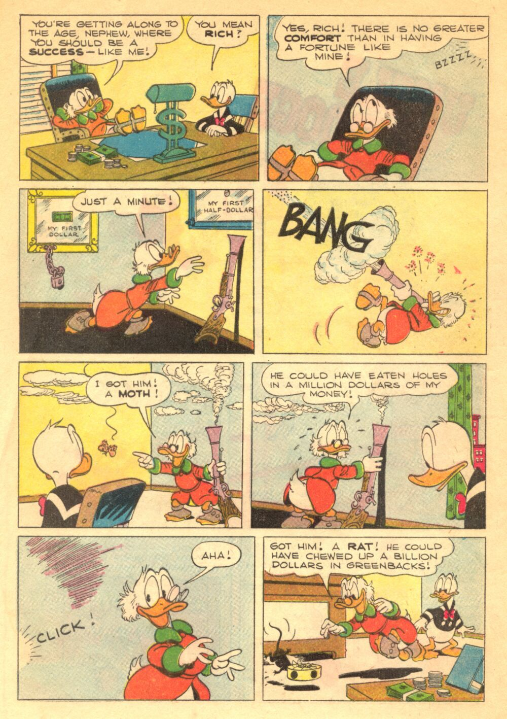 Read online Uncle Scrooge (1953) comic -  Issue #1 - 4