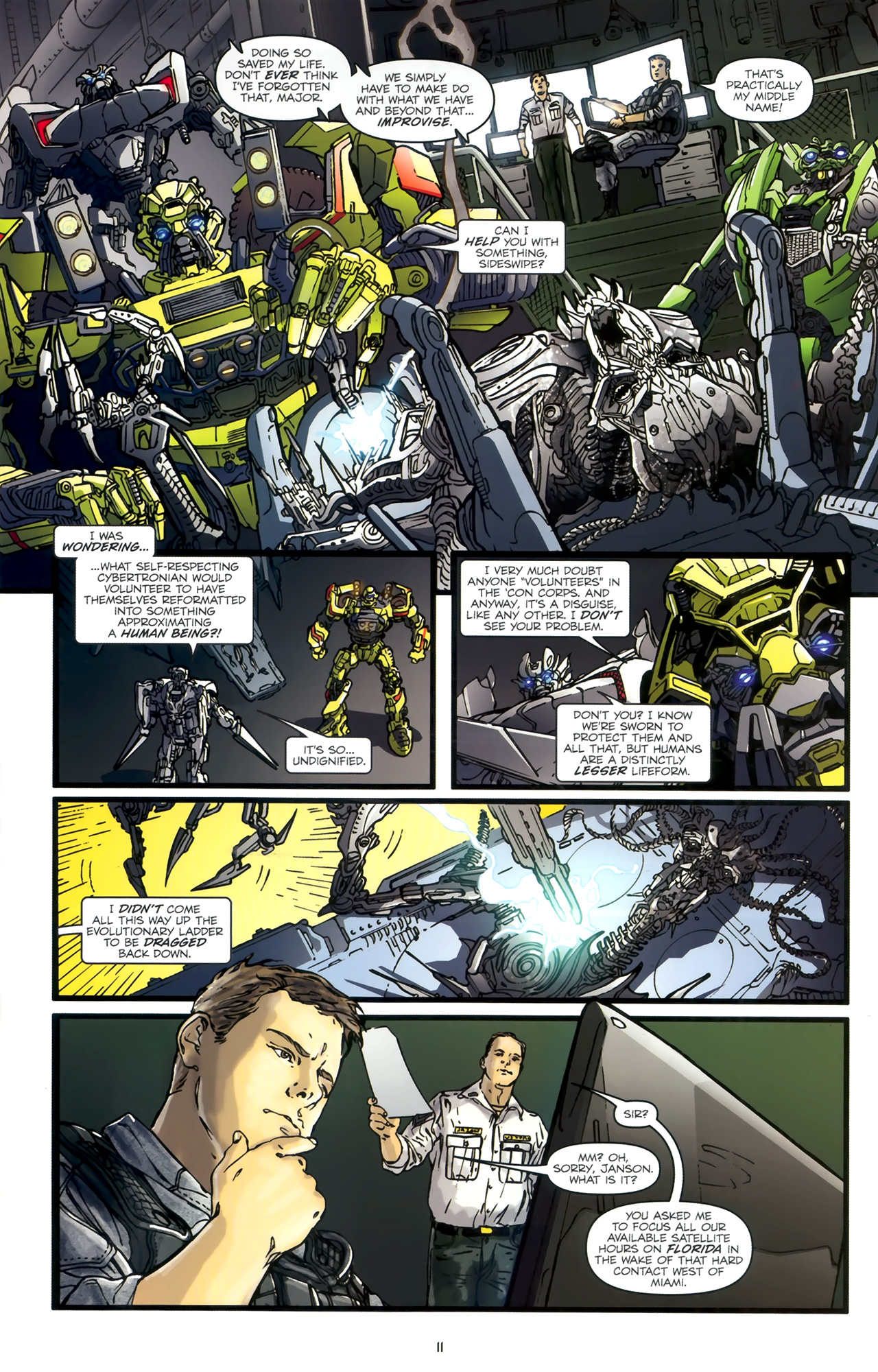 Read online Transformers: Nefarious comic -  Issue #1 - 15