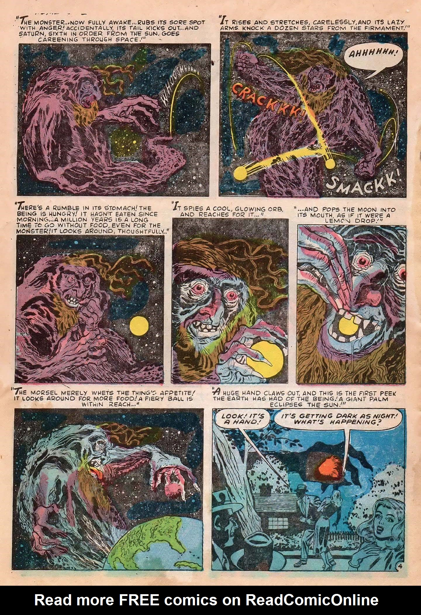 Read online Adventures into Weird Worlds comic -  Issue #2 - 30