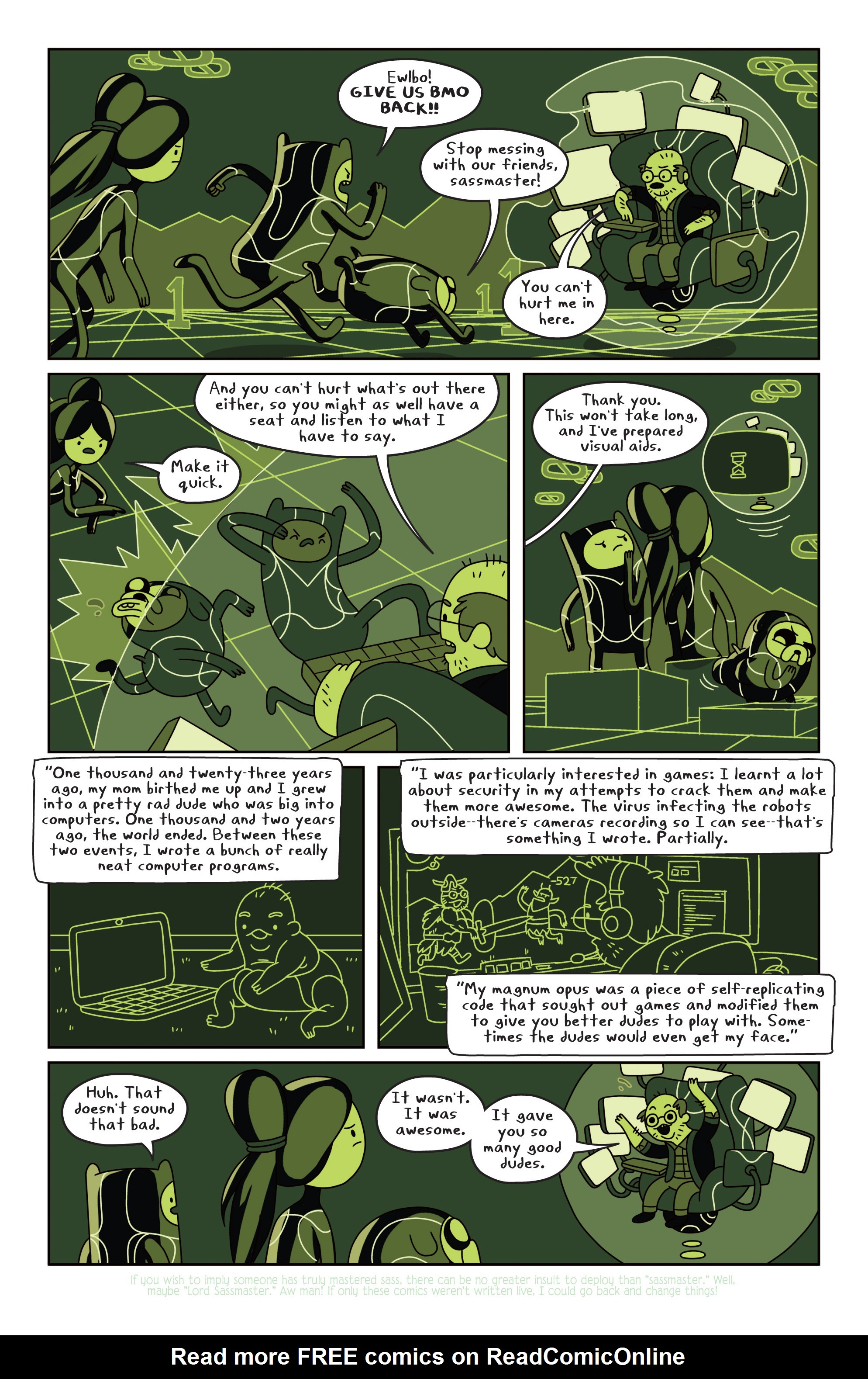 Read online Adventure Time comic -  Issue #13 - 19