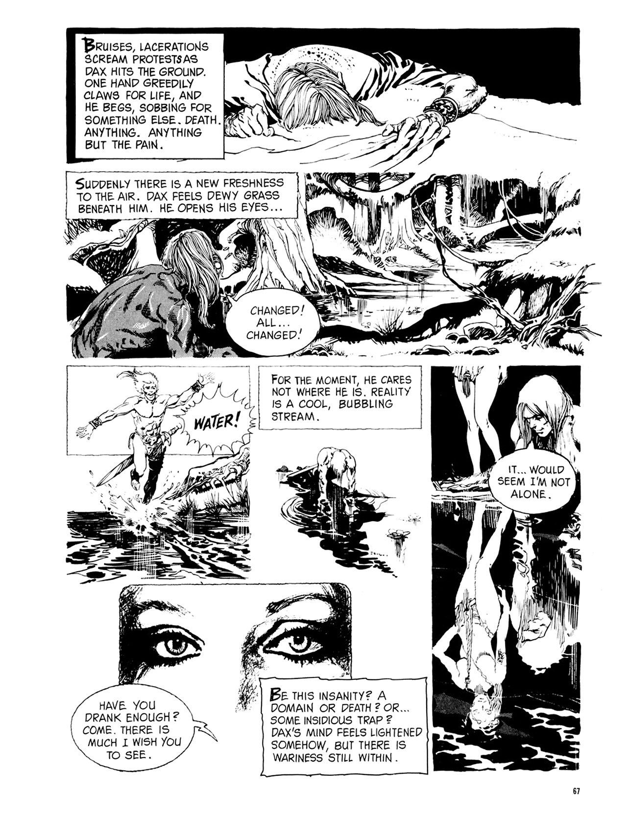 Read online Eerie Archives comic -  Issue # TPB 9 - 68