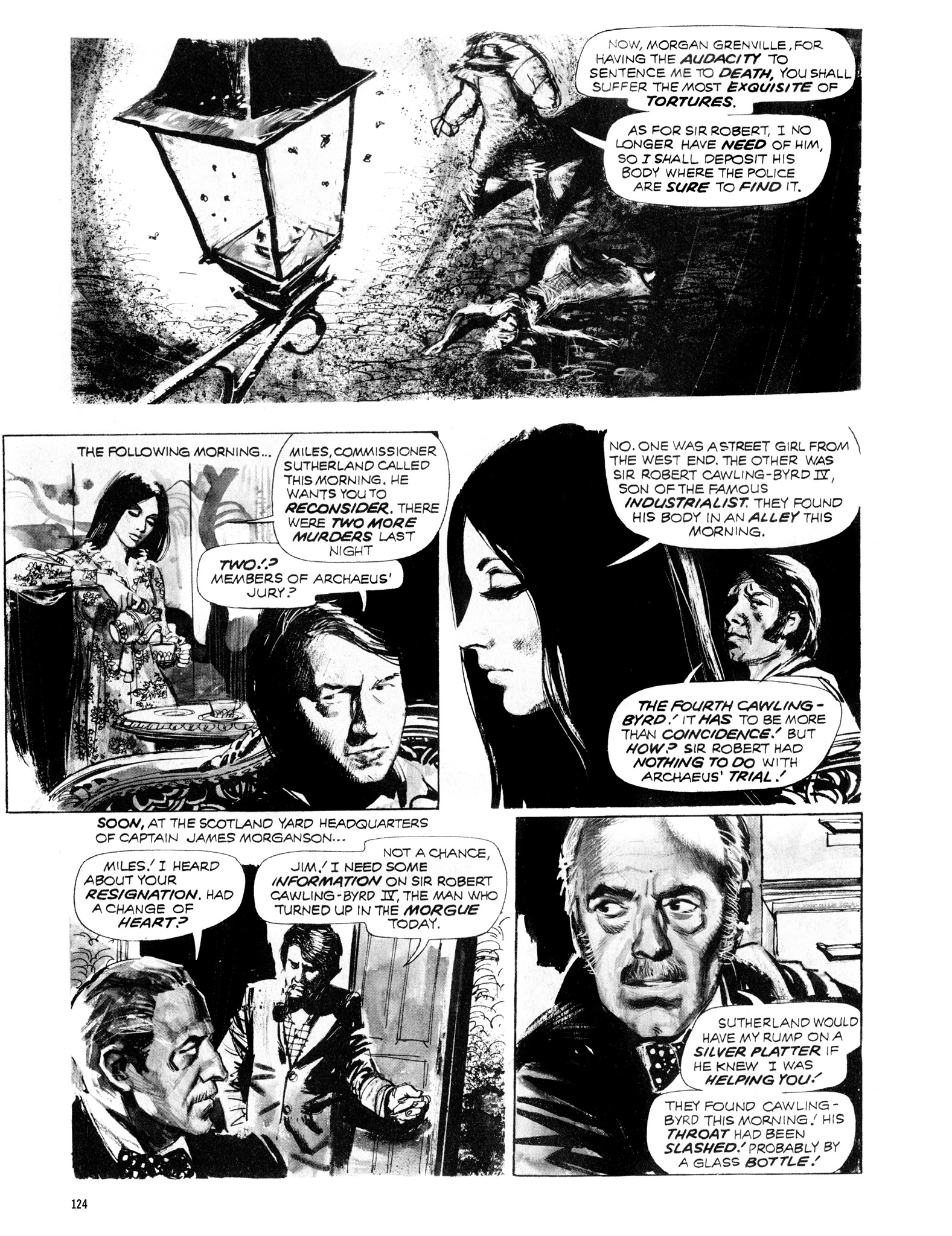 Read online Eerie Archives comic -  Issue # TPB 12 - 125
