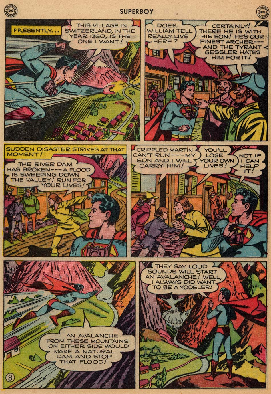 Superboy (1949) issue 3 - Page 9