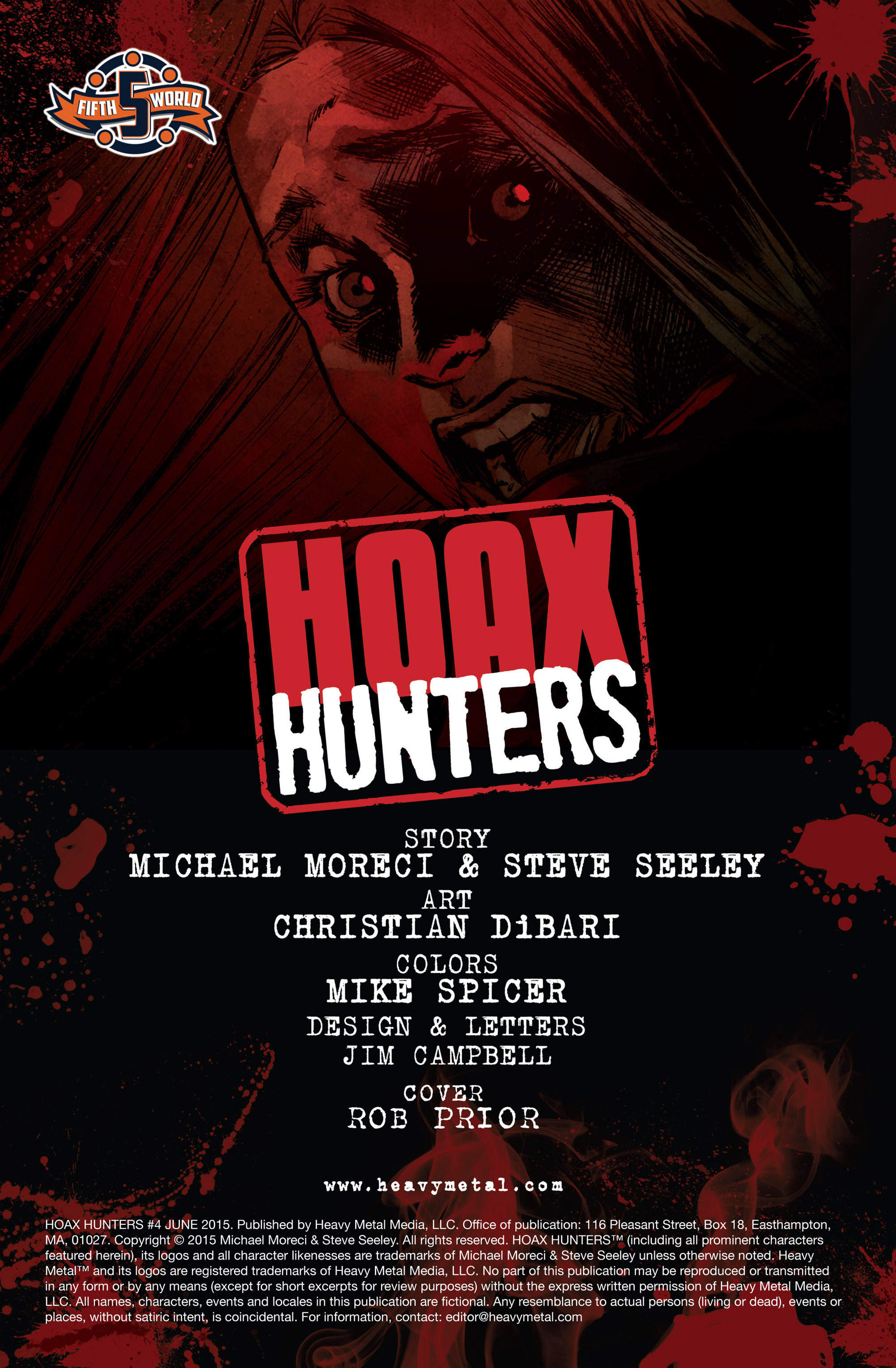 Read online Hoax Hunters (2015) comic -  Issue #4 - 2