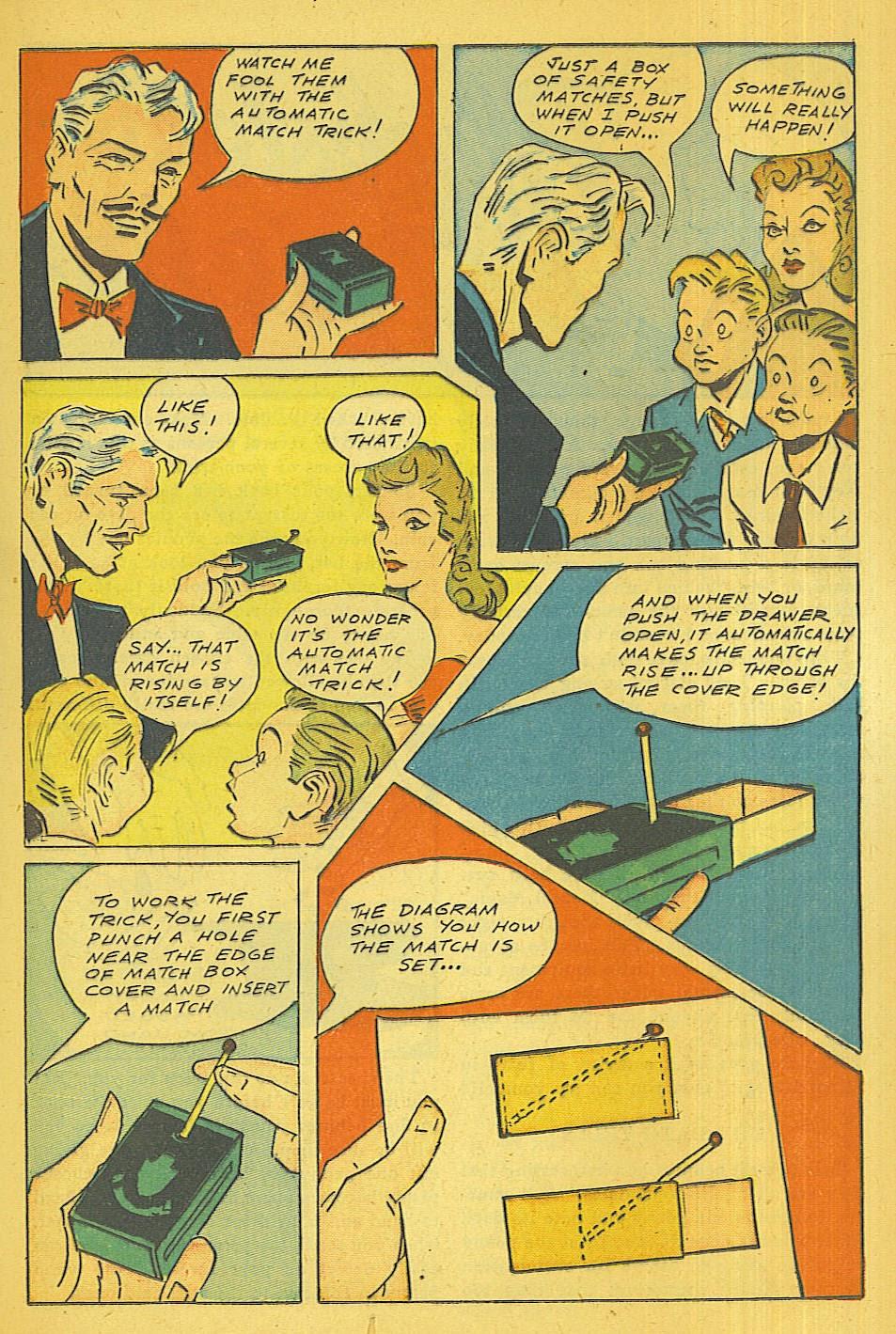 Read online Super-Magician Comics comic -  Issue #39 - 20