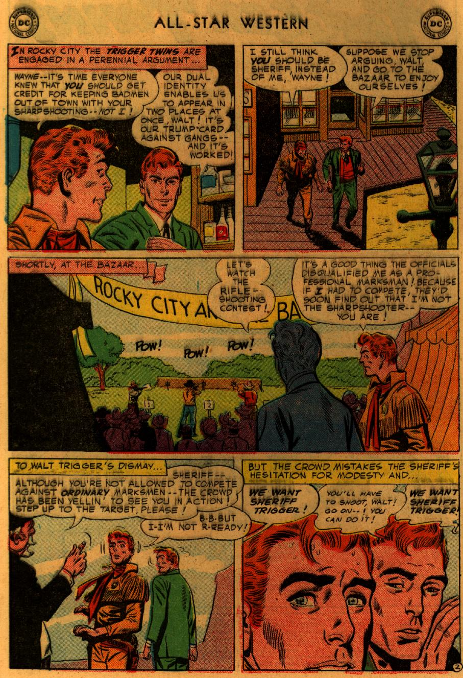Read online All-Star Western (1951) comic -  Issue #89 - 5