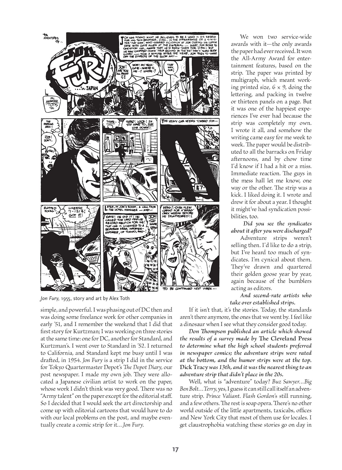 Read online Setting the Standard: Comics by Alex Toth 1952-1954 comic -  Issue # TPB (Part 1) - 16