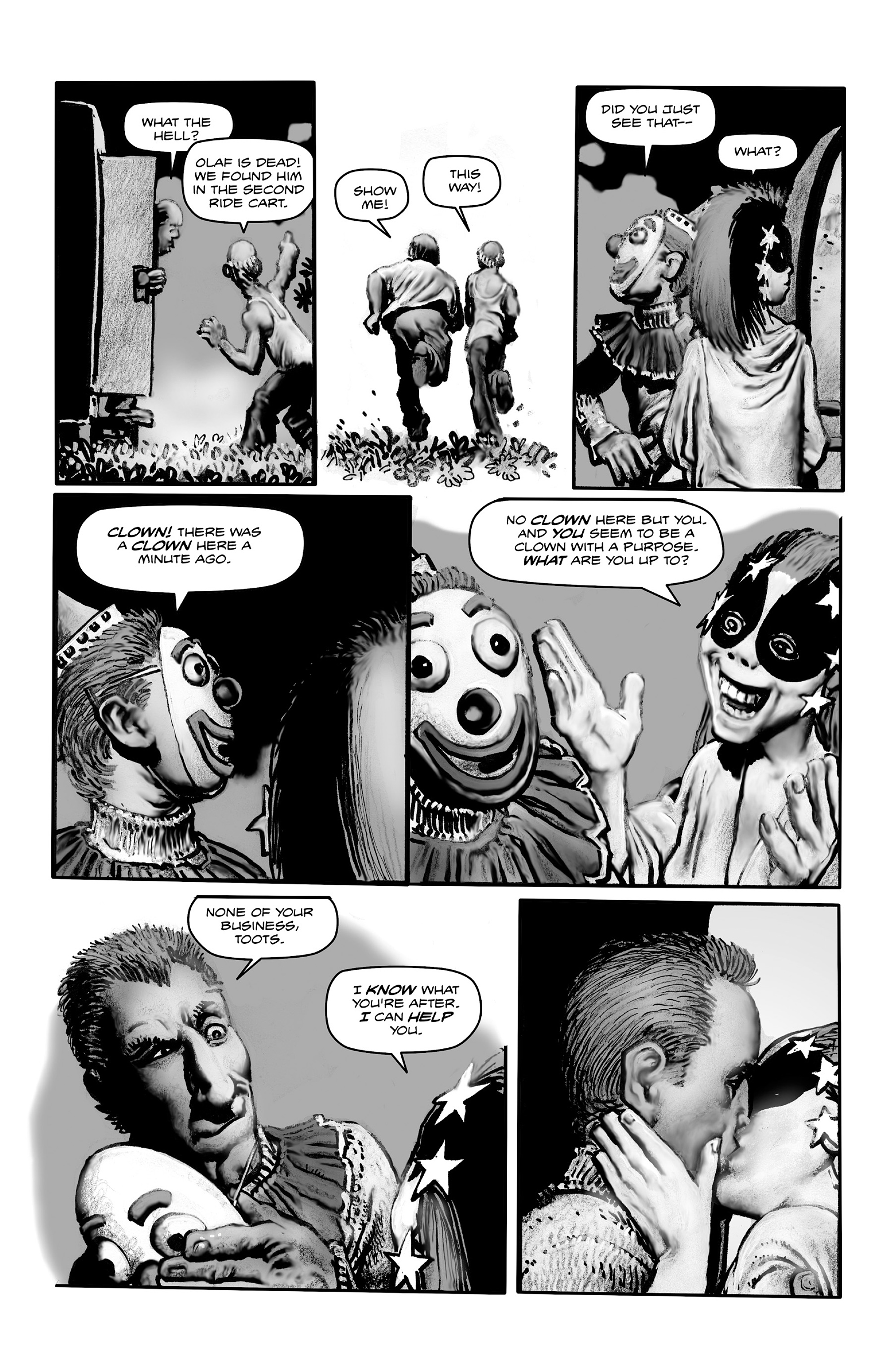 Read online Shadows on the Grave comic -  Issue #4 - 8