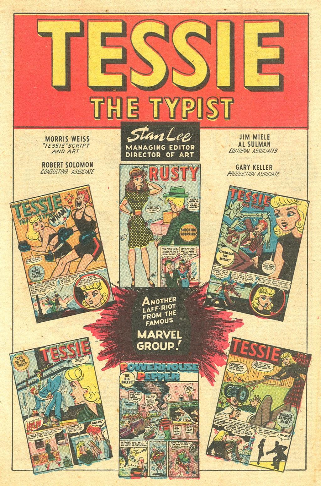 Tessie the Typist issue 11 - Page 3