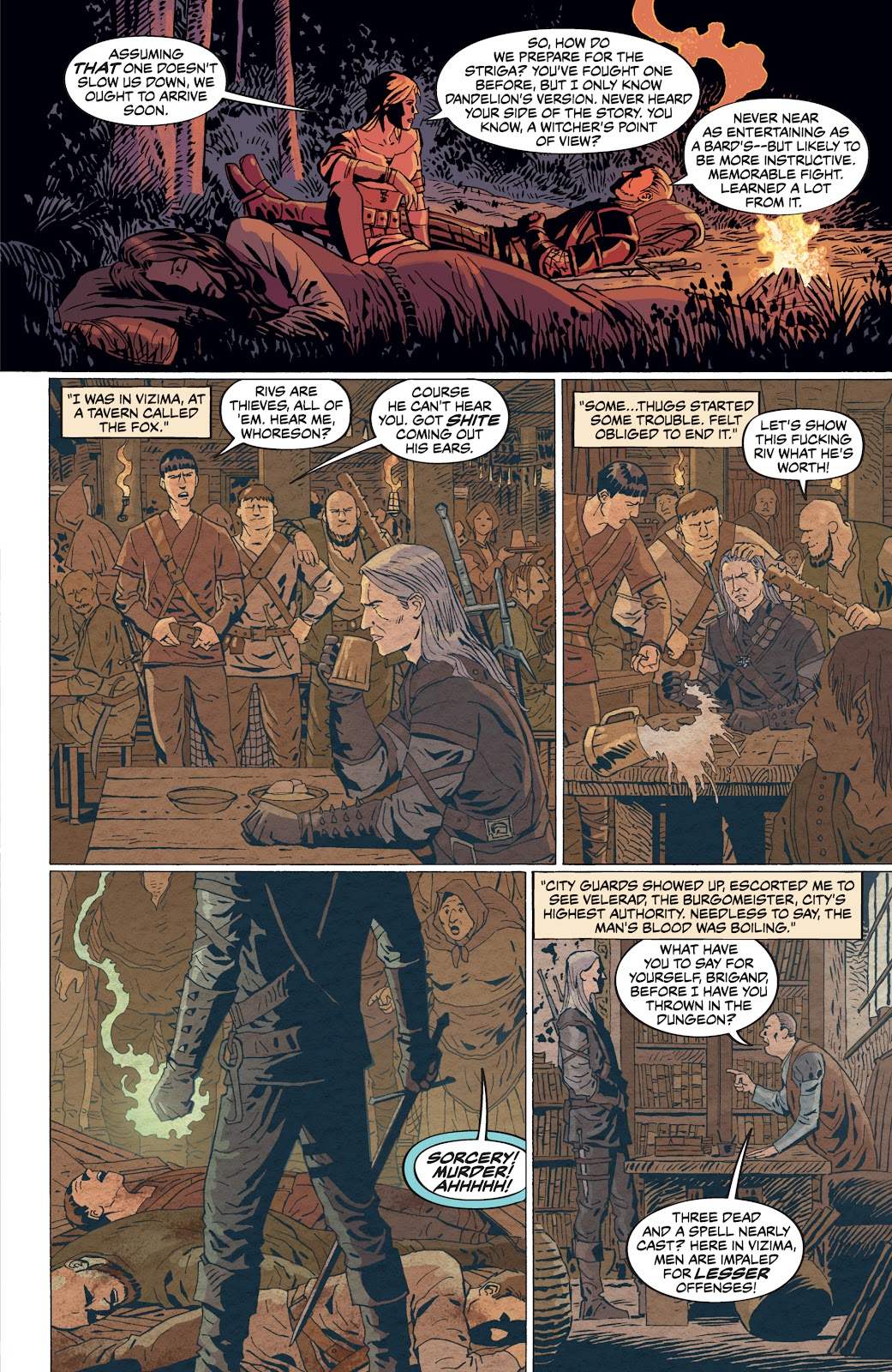 Read online The Witcher Omnibus comic -  Issue # TPB (Part 4) - 8