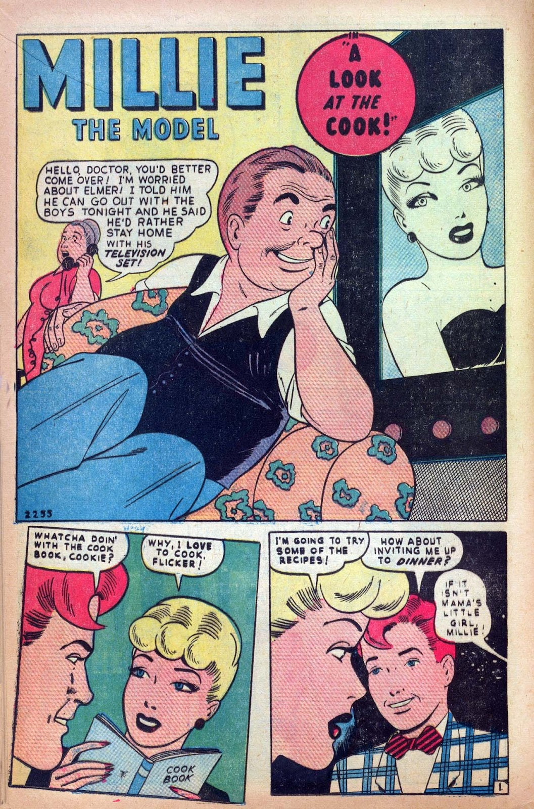 Read online Millie the Model comic -  Issue #13 - 16