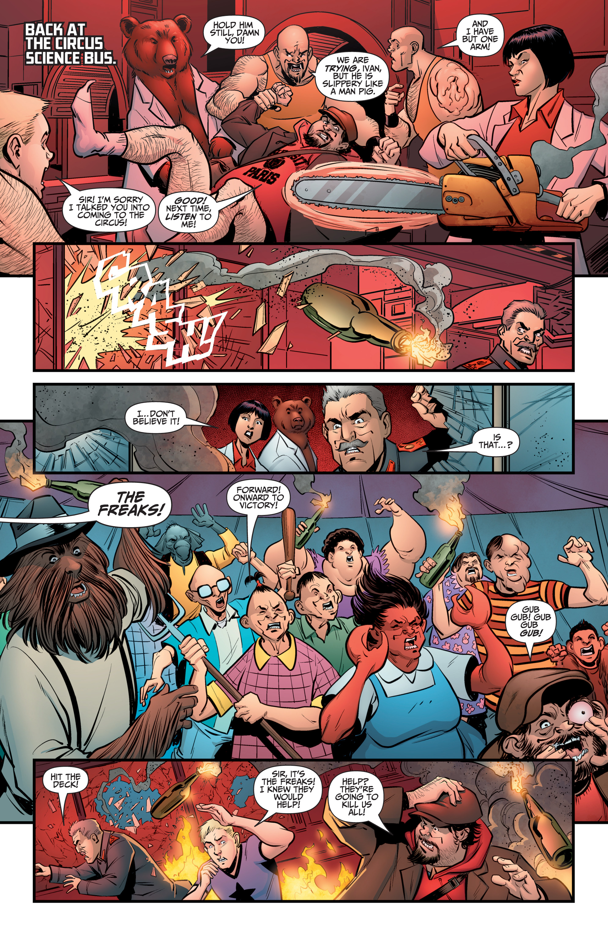 Read online A&A: The Adventures of Archer & Armstrong comic -  Issue #8 - 9