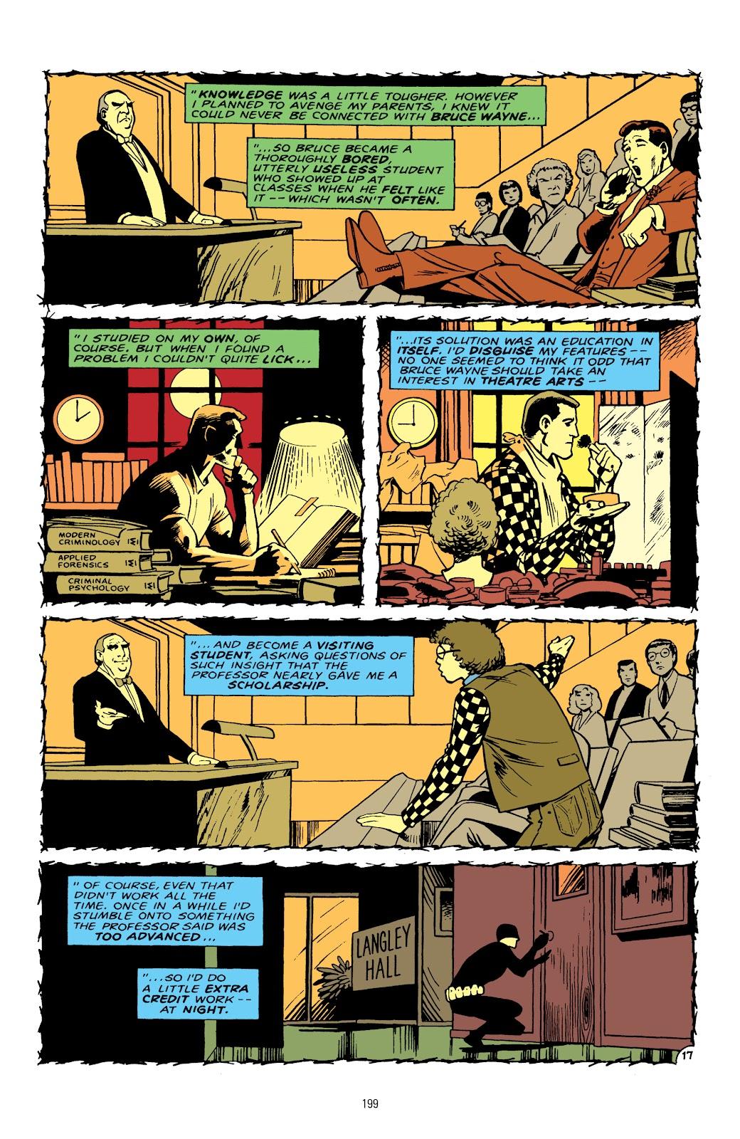 Read online Detective Comics (1937) comic -  Issue # _TPB Batman - The Dark Knight Detective 1 (Part 2) - 99