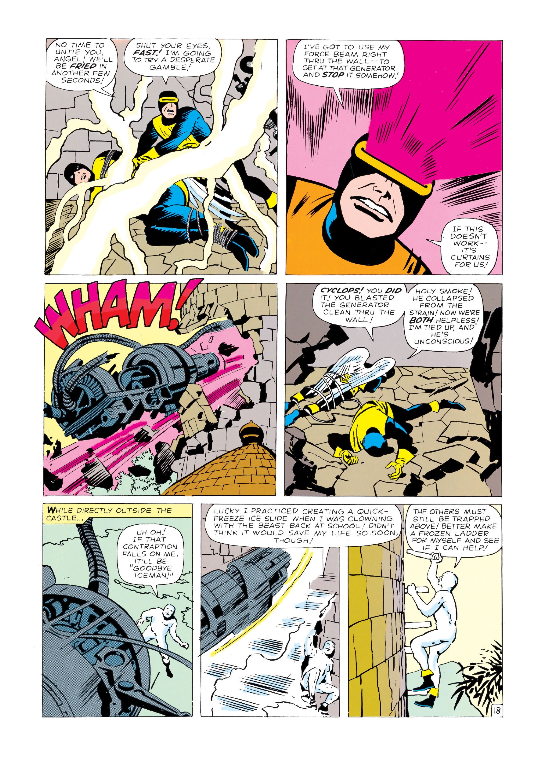 Read online Uncanny X-Men (1963) comic -  Issue #4 - 19