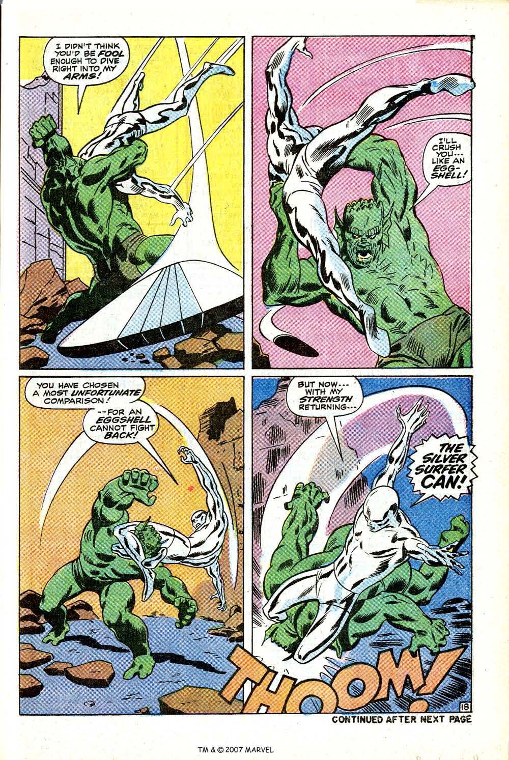 Read online Silver Surfer (1968) comic -  Issue #12 - 25